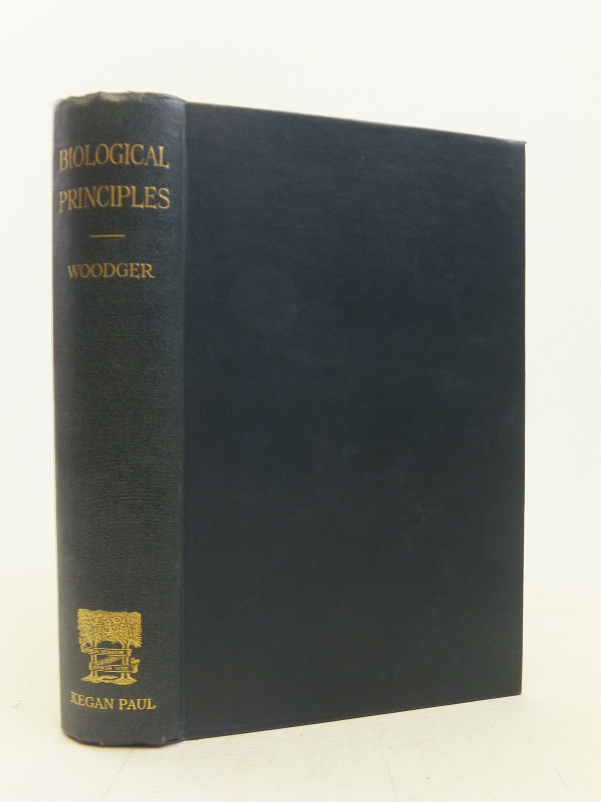 Photo of BIOLOGICAL PRINCIPLES A CRITICAL STUDY- Stock Number: 2114984