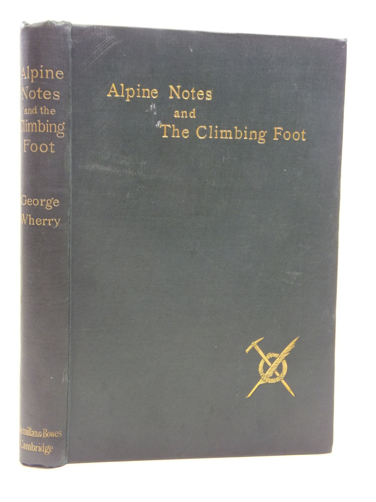Photo of ALPINE NOTES & THE CLIMBING FOOT- Stock Number: 2115410