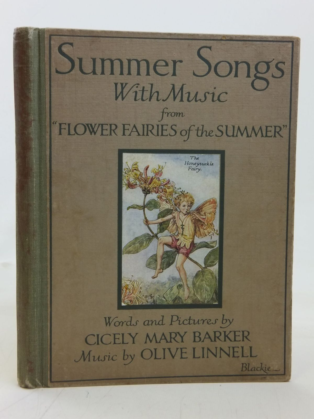 Photo of SUMMER SONGS WITH MUSIC written by Barker, Cicely Mary Linnell, Olive illustrated by Barker, Cicely Mary published by Blackie & Son Ltd. (STOCK CODE: 2115451)  for sale by Stella & Rose's Books