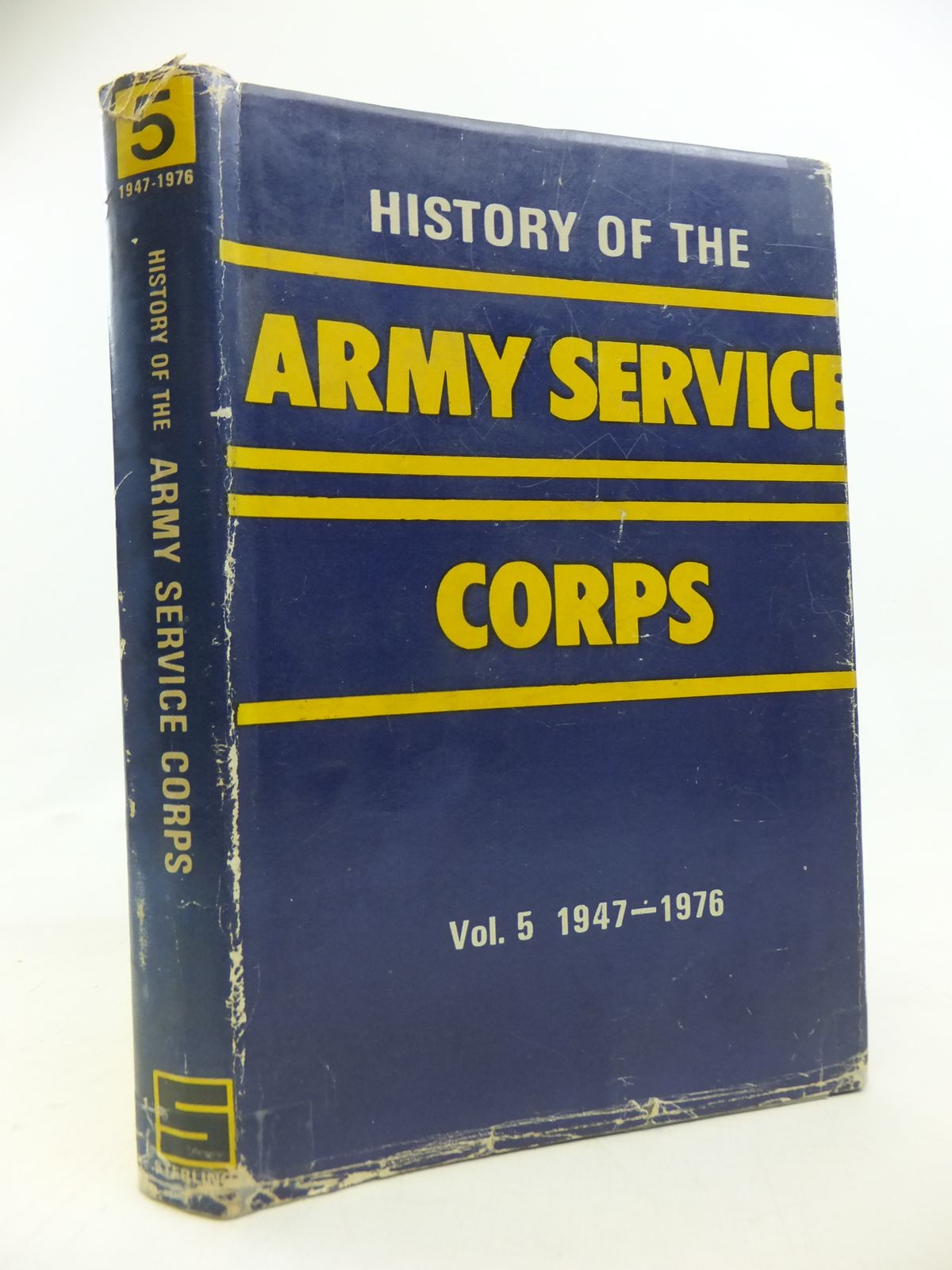 Photo of HISTORY OF THE ARMY SERVICE CORPS (1947 - 1976) published by Sterling Publishers Pvt Ltd (STOCK CODE: 2115616)  for sale by Stella & Rose's Books