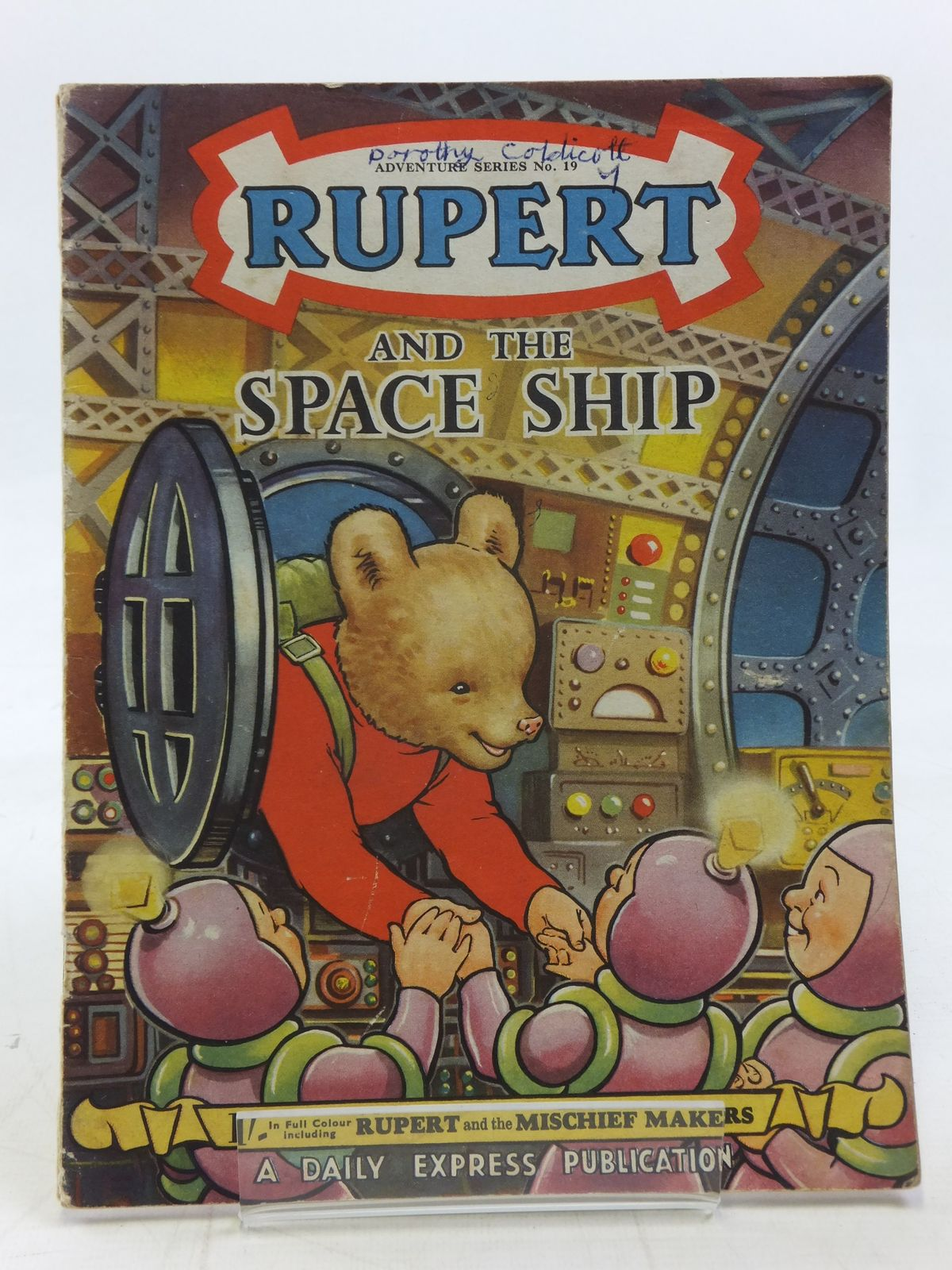 Photo of RUPERT ADVENTURE SERIES No. 19 - RUPERT AND THE SPACE SHIP- Stock Number: 2115841