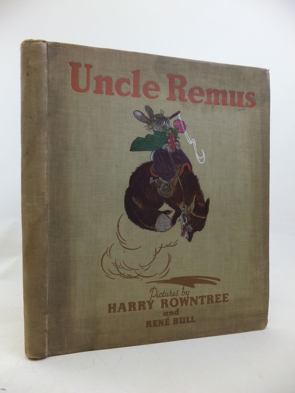 Photo of UNCLE REMUS OR THE STORY OF MR. FOX AND BRER RABBIT- Stock Number: 2115870