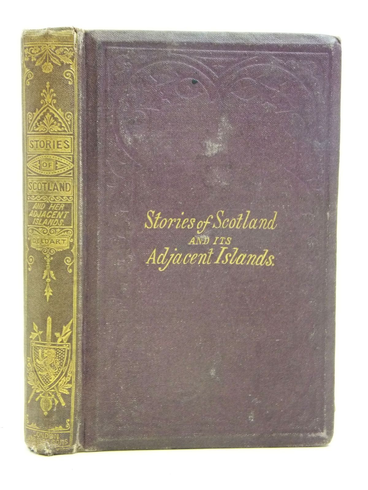Photo of STORIES OF SCOTLAND AND ITS ADJACENT ISLANDS written by Geldart, Mrs. Thomas published by Jarrold & Sons (STOCK CODE: 2115957)  for sale by Stella & Rose's Books