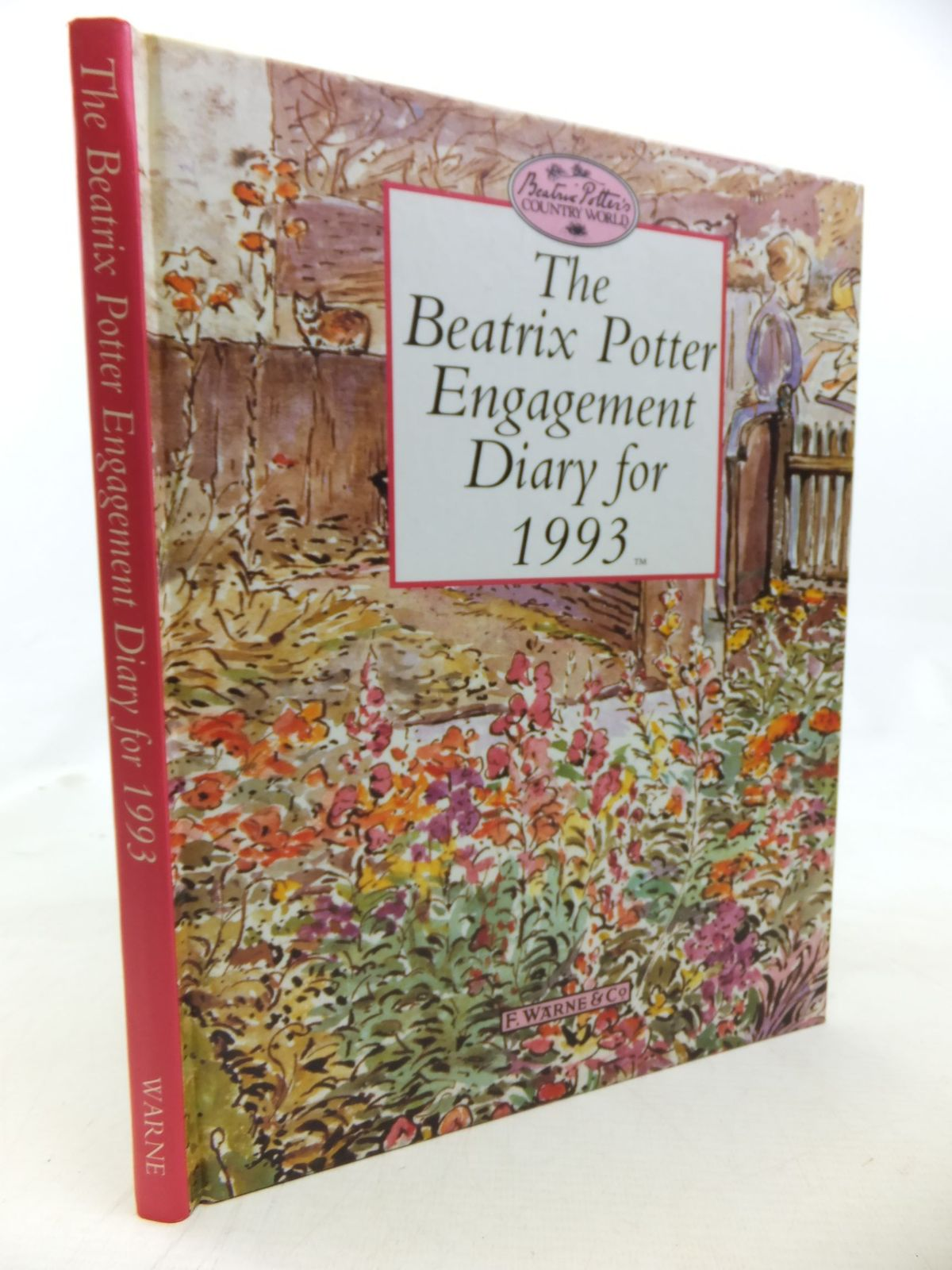 Photo of THE BEATRIX POTTER ENGAGEMENT DIARY FOR 1993- Stock Number: 2115982
