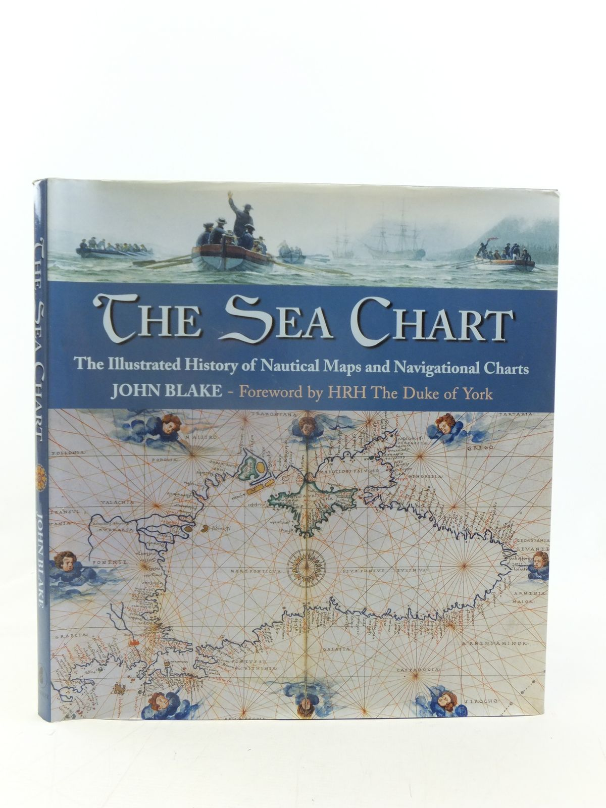 Photo of THE SEA CHART THE ILLUSTRATED HISTORY OF NAUTICAL MAPS AND NAVIGATIONAL CHARTS written by Blake, John published by Conway Maritime Press (STOCK CODE: 2116285)  for sale by Stella & Rose's Books