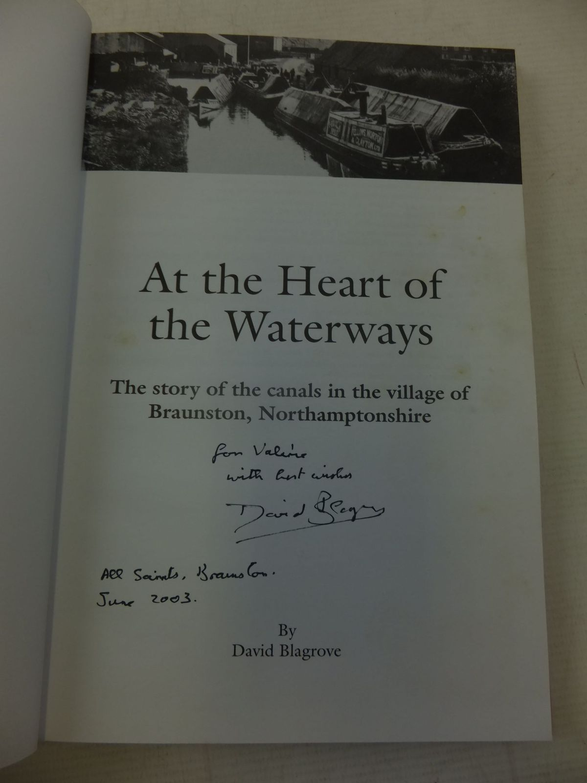 Photo of AT THE HEART OF THE WATERWAYS written by Blagrove, David published by Buchebroc Press (STOCK CODE: 2116298)  for sale by Stella & Rose's Books