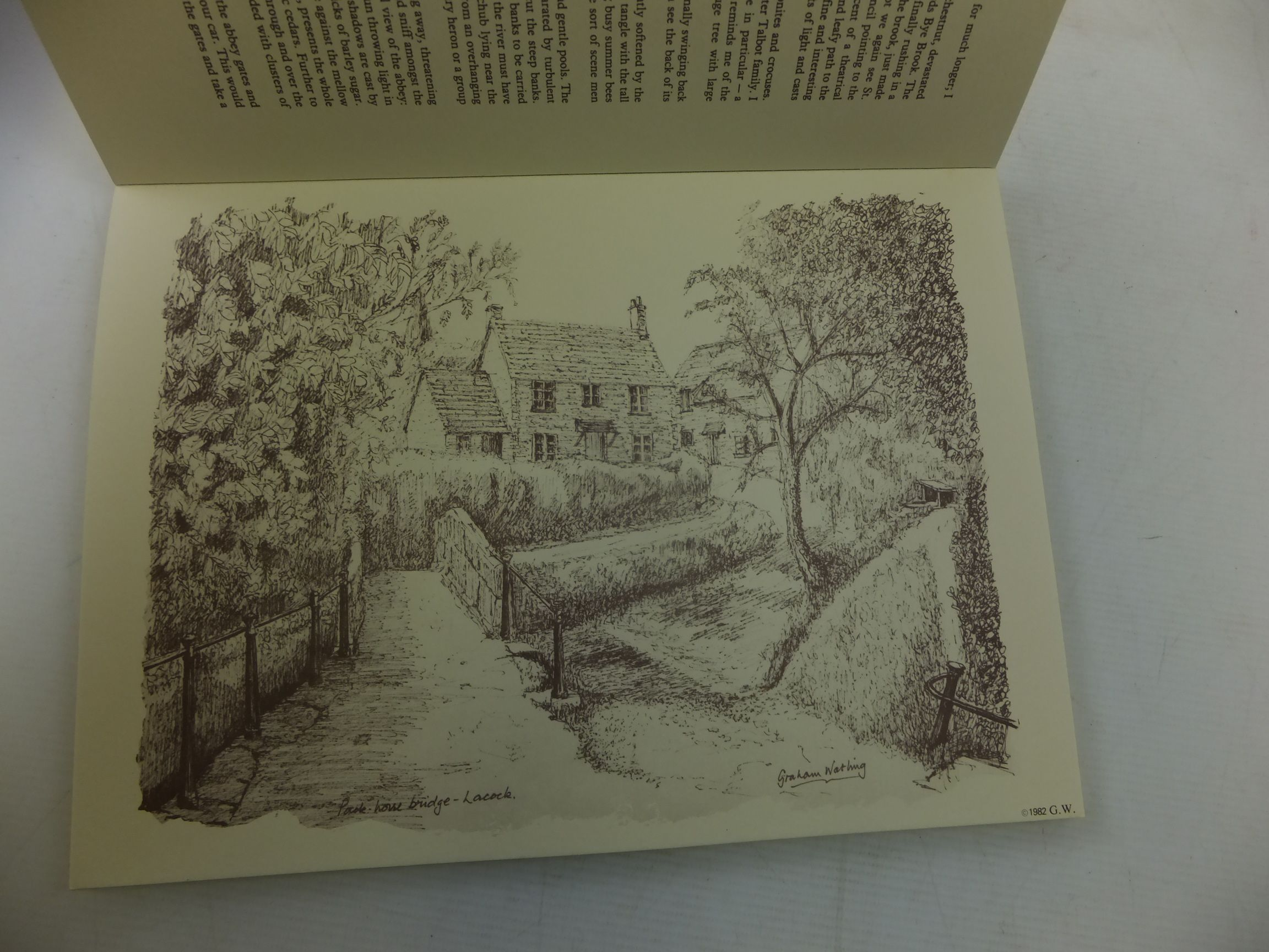 Photo of DISCOVERING LACOCK written by Watling, Graham illustrated by Watling, Graham published by G. & J.M. Watling (STOCK CODE: 2116300)  for sale by Stella & Rose's Books
