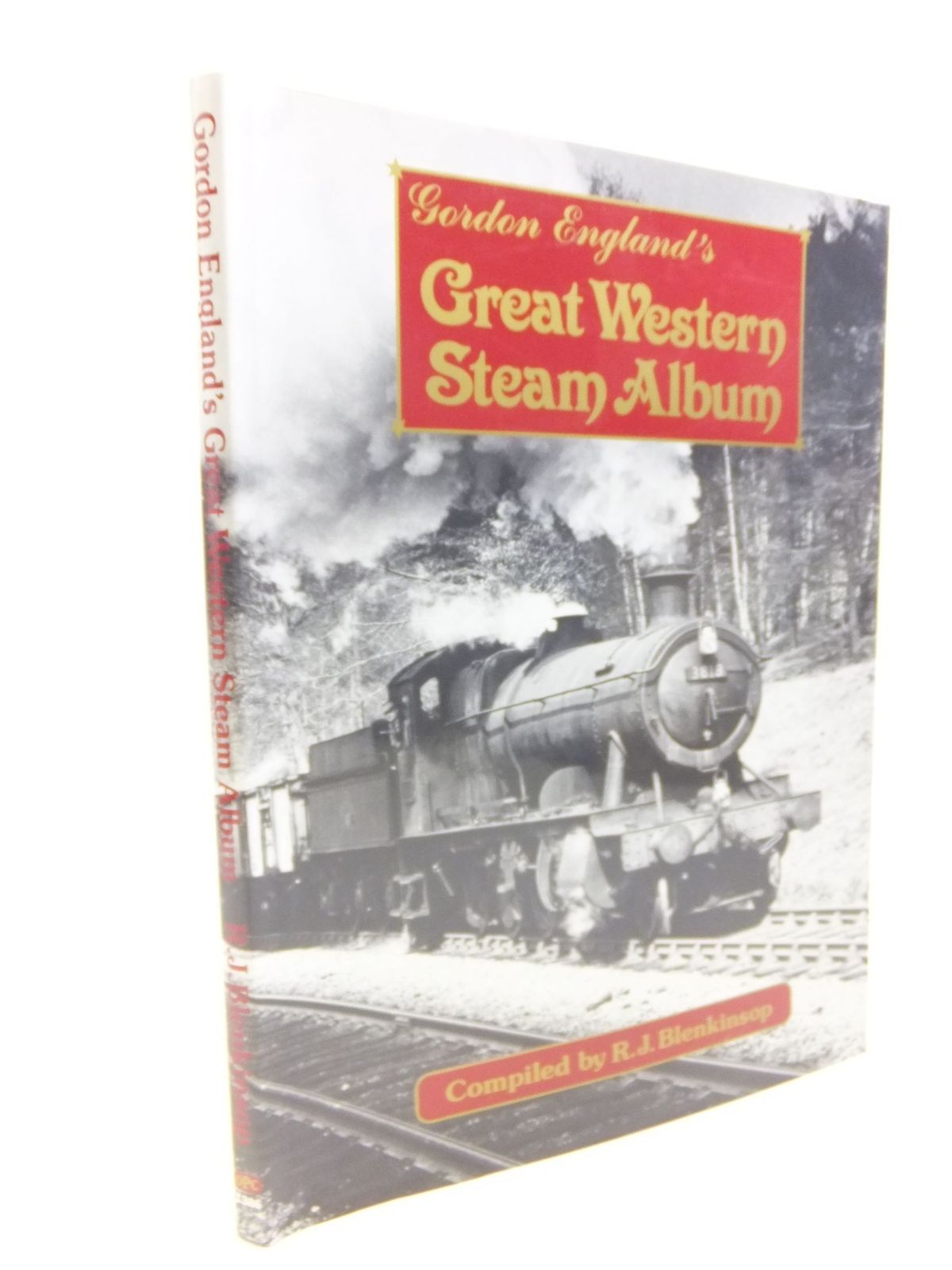 Photo of GORDON ENGLAND'S GREAT WESTERN STEAM ALBUM written by Blenkinsop, R.J. published by Oxford Publishing (STOCK CODE: 2116324)  for sale by Stella & Rose's Books