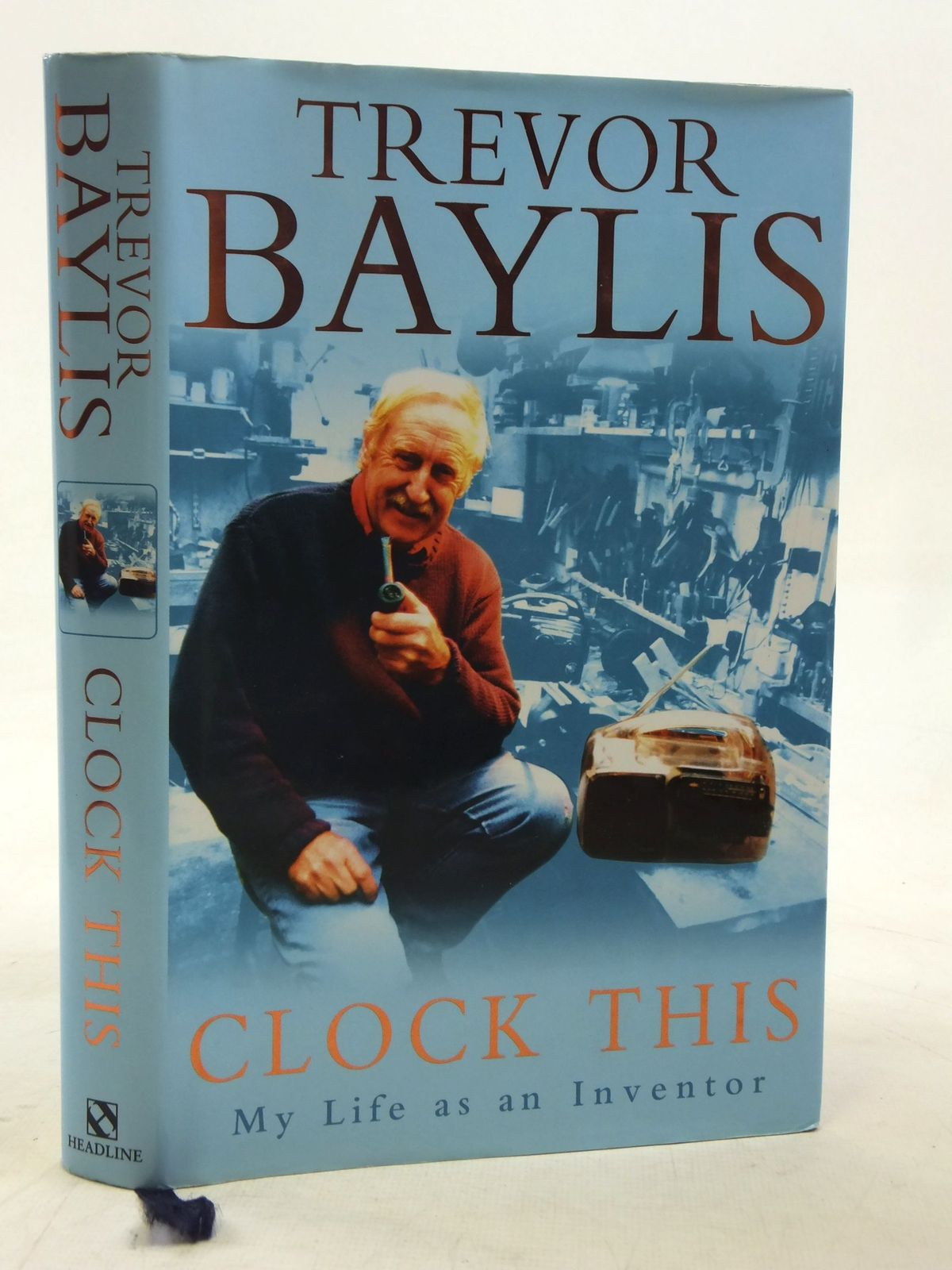 Photo of CLOCK THIS MY LIFE AS AN INVENTOR written by Baylis, Trevor published by Headline (STOCK CODE: 2116467)  for sale by Stella & Rose's Books