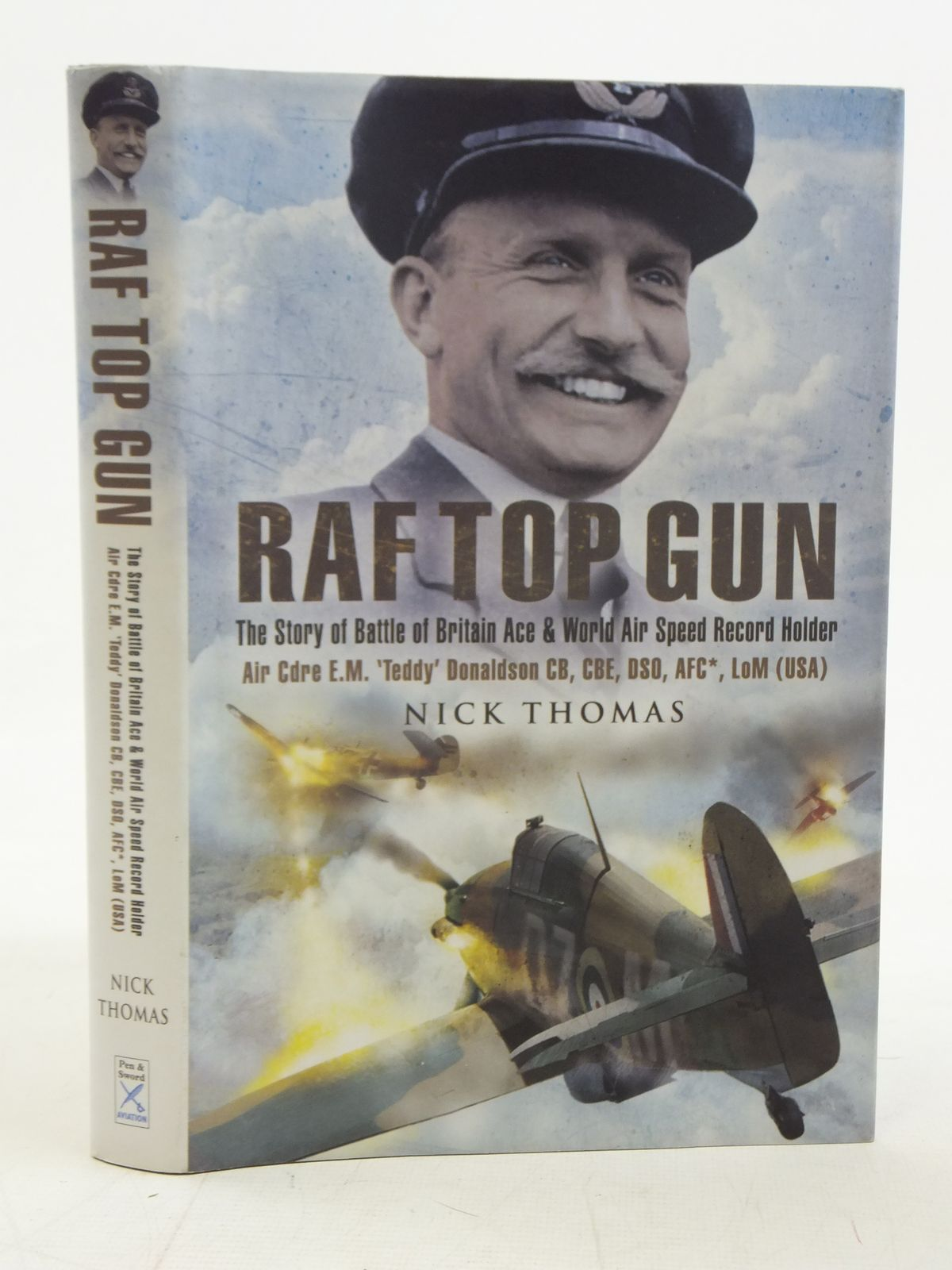 Photo of RAF TOP GUN written by Thomas, Nick published by Pen & Sword Aviation (STOCK CODE: 2116469)  for sale by Stella & Rose's Books