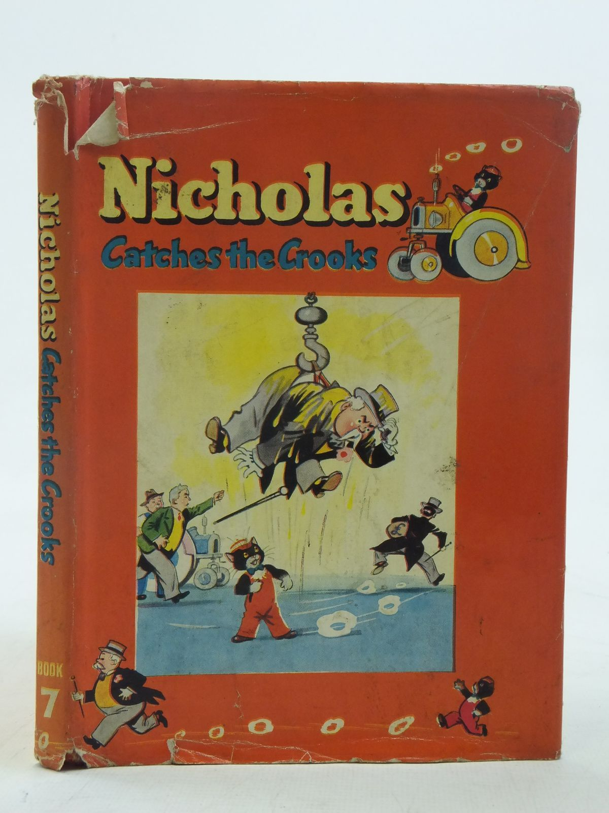 Photo of NICHOLAS CATCHES THE CROOKS written by Styles, Kitty illustrated by Lee, Mary Kendal published by Sampson Low, Marston & Co. Ltd. (STOCK CODE: 2116573)  for sale by Stella & Rose's Books