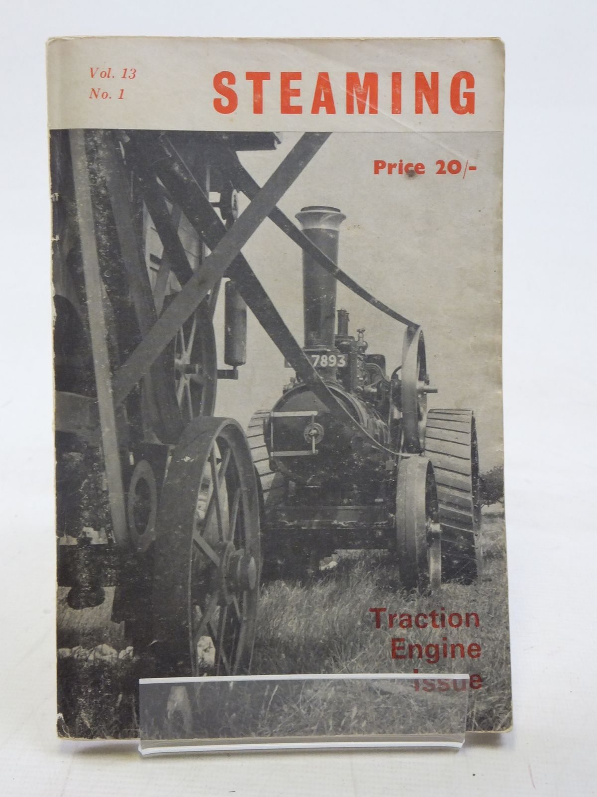Photo of STEAMING VOL. 13 No. 1 published by The National Traction Engine Club Ltd. (STOCK CODE: 2116656)  for sale by Stella & Rose's Books