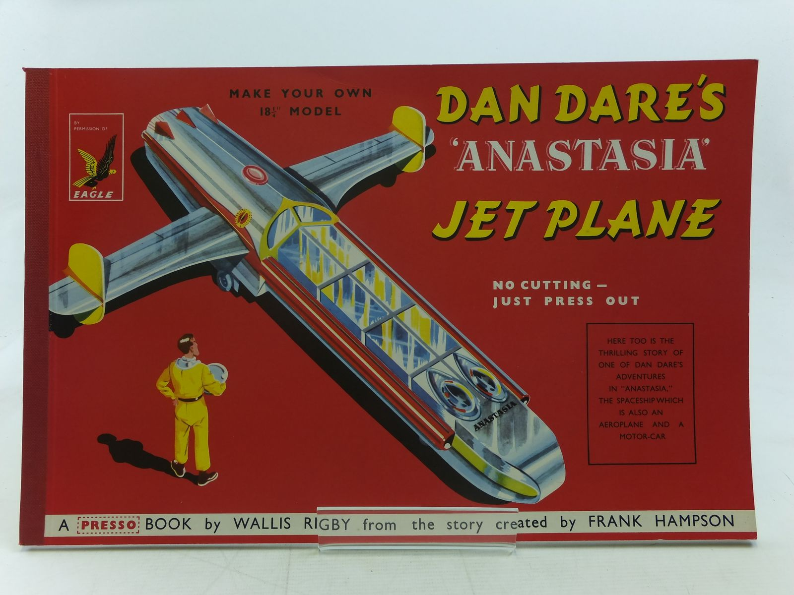 Photo of DAN DARE'S ANASTASIA JET PLANE written by Rigby, Wallis<br />Hampson, Frank illustrated by Hampson, Frank published by Hulton Press (STOCK CODE: 2116702)  for sale by Stella & Rose's Books