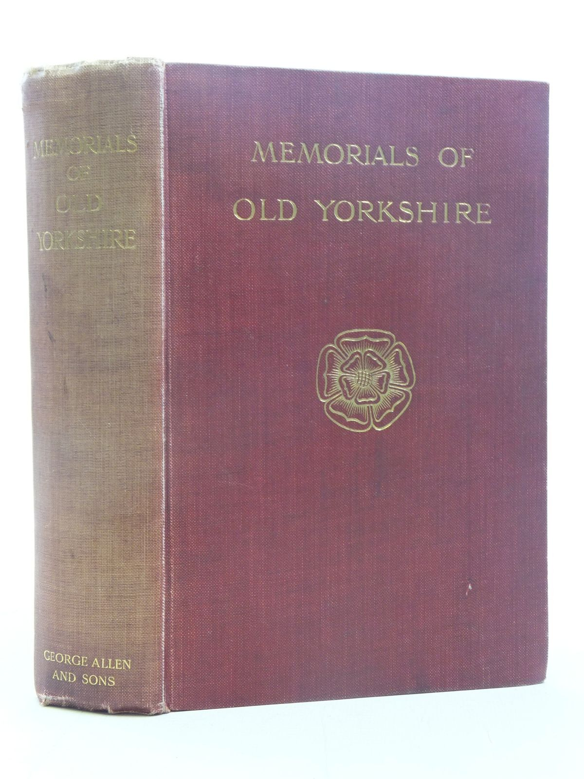 Photo of MEMORIALS OF OLD YORKSHIRE written by Fallow, T.M. published by George Allen & Sons (STOCK CODE: 2116734)  for sale by Stella & Rose's Books