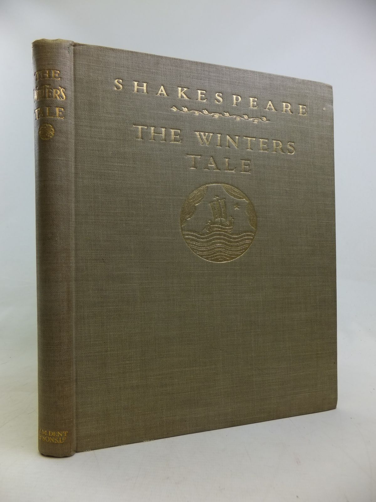 Photo of THE WINTER'S TALE written by Shakespeare, William illustrated by Armfield, Maxwell published by J.M. Dent & Sons Ltd. (STOCK CODE: 2116755)  for sale by Stella & Rose's Books