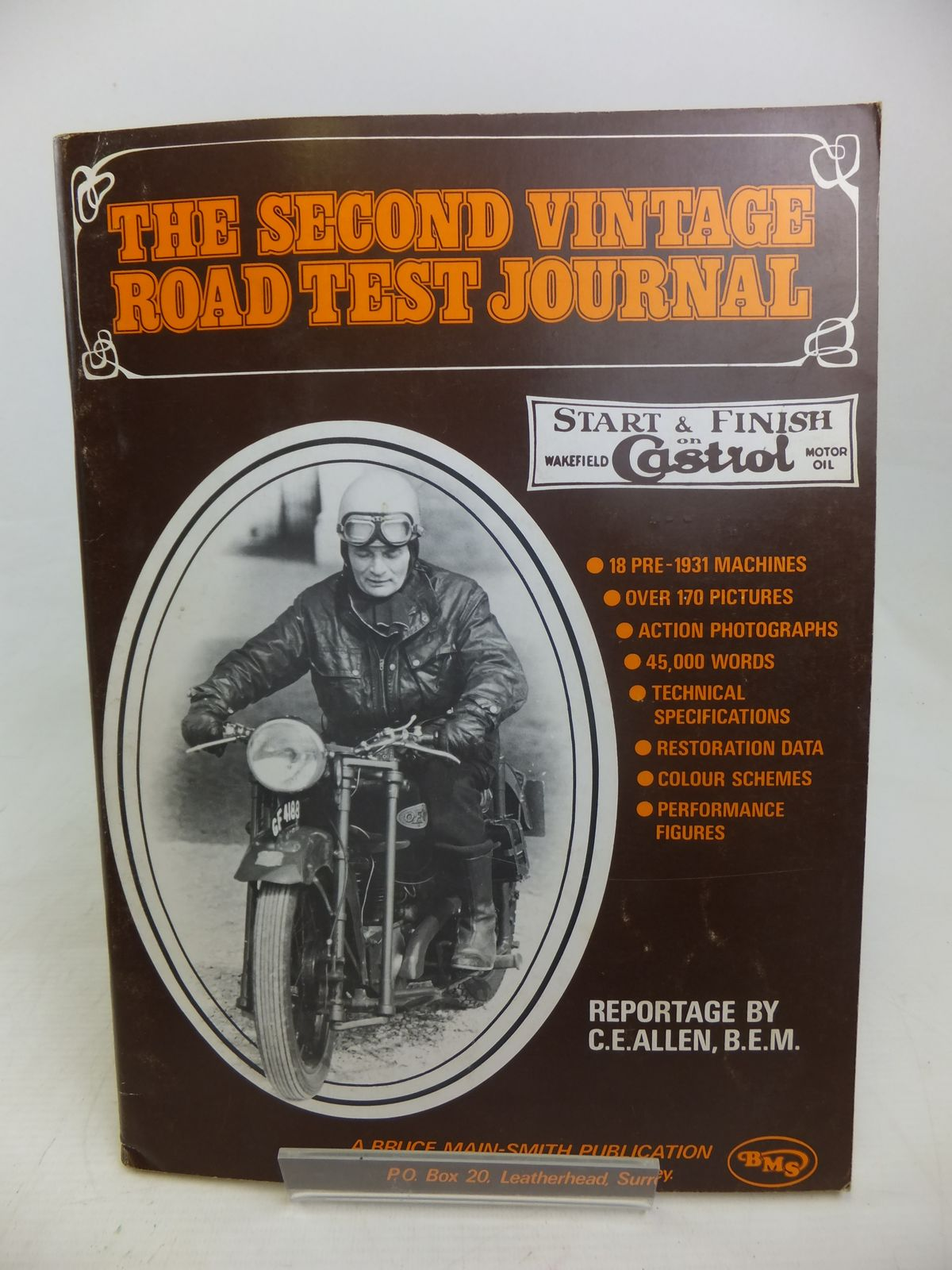 Photo of THE SECOND VINTAGE ROAD TEST JOURNAL written by Allen, C.E. published by Bruce Main-Smith & Co. Ltd. (STOCK CODE: 2116999)  for sale by Stella & Rose's Books