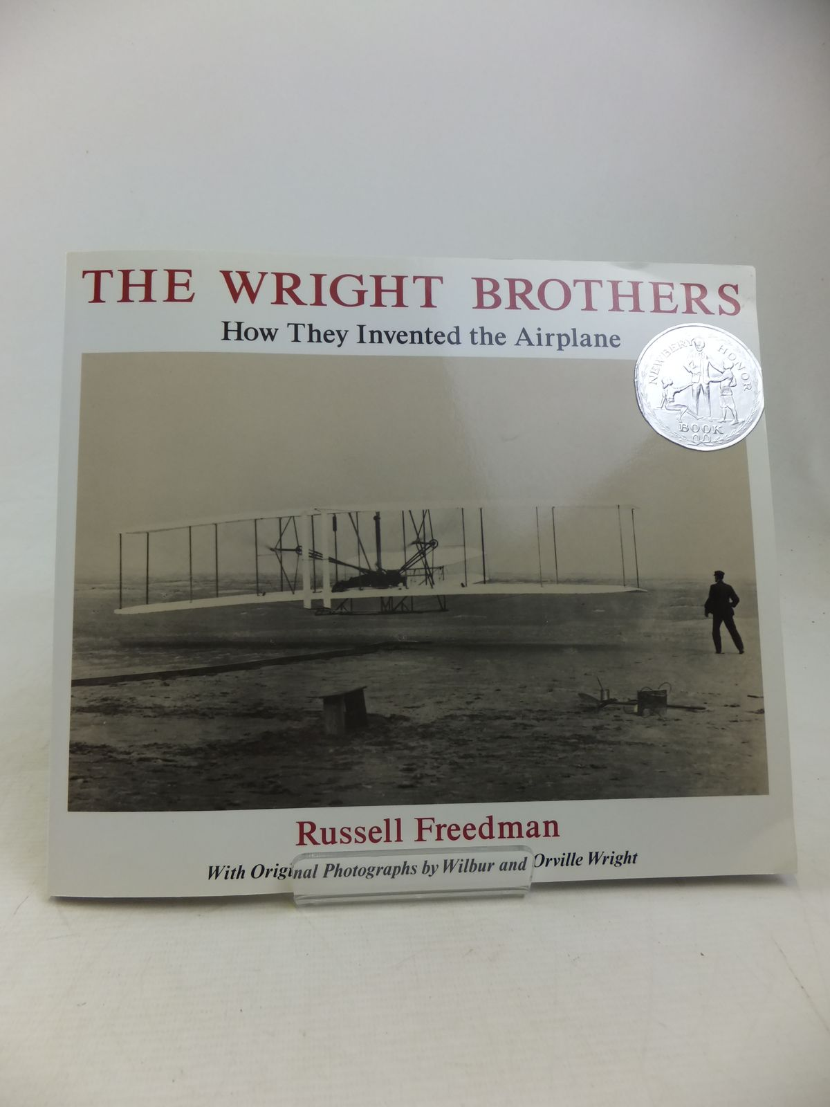 Photo of THE WRIGHT BROTHERS HOW THEY INVENTED THE AIRPLANE- Stock Number: 2117040