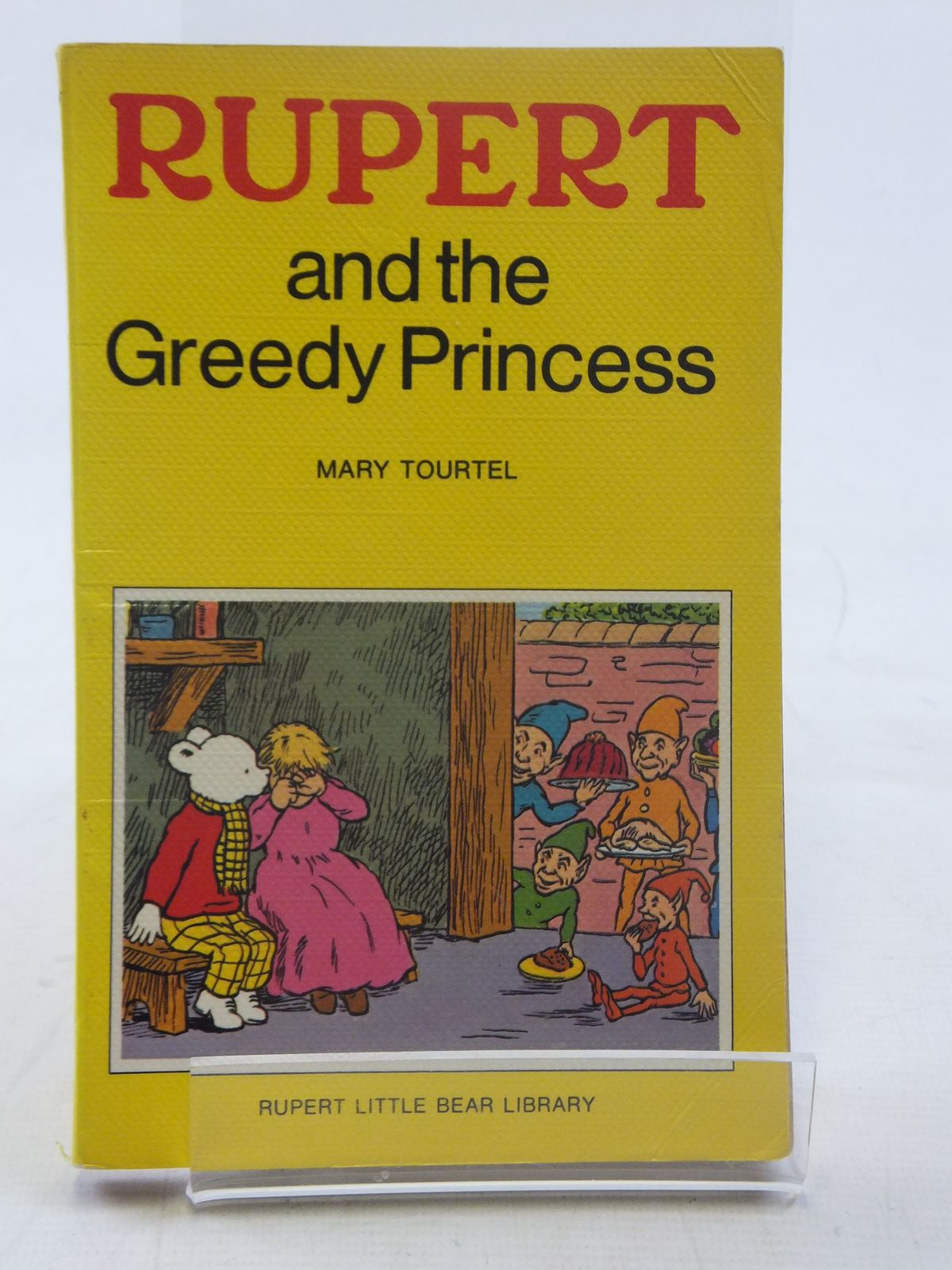Photo of RUPERT AND THE GREEDY PRINCESS - RUPERT LITTLE BEAR LIBRARY No. 11 (WOOLWORTH) written by Tourtel, Mary illustrated by Tourtel, Mary published by Sampson Low, Marston & Co. Ltd. (STOCK CODE: 2117144)  for sale by Stella & Rose's Books