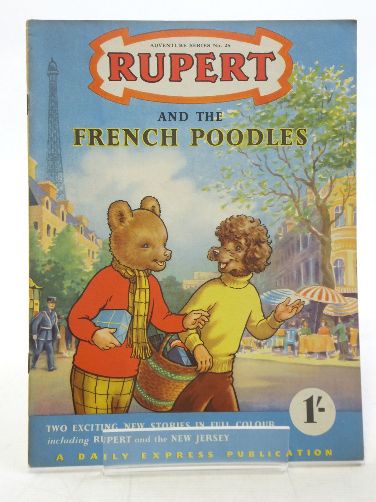 Photo of RUPERT ADVENTURE SERIES No. 25 - RUPERT AND THE FRENCH POODLES- Stock Number: 2117171