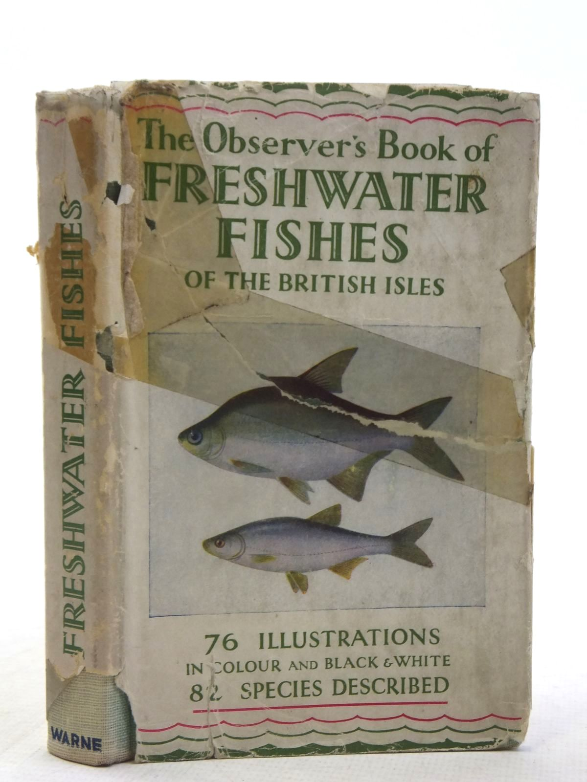 Photo of THE OBSERVER'S BOOK OF FRESHWATER FISHES OF THE BRITISH ISLES written by Wells, A. Laurence published by Frederick Warne & Co Ltd. (STOCK CODE: 2117509)  for sale by Stella & Rose's Books