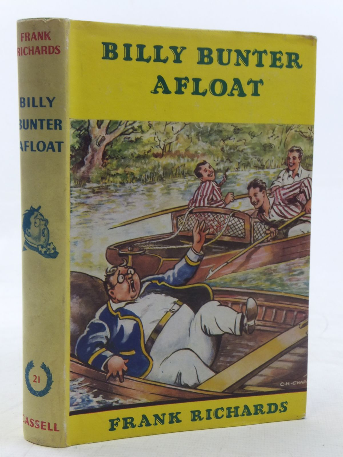 Photo of BILLY BUNTER AFLOAT written by Richards, Frank illustrated by Chapman, C.H. published by Cassell & Co. Ltd. (STOCK CODE: 2117520)  for sale by Stella & Rose's Books