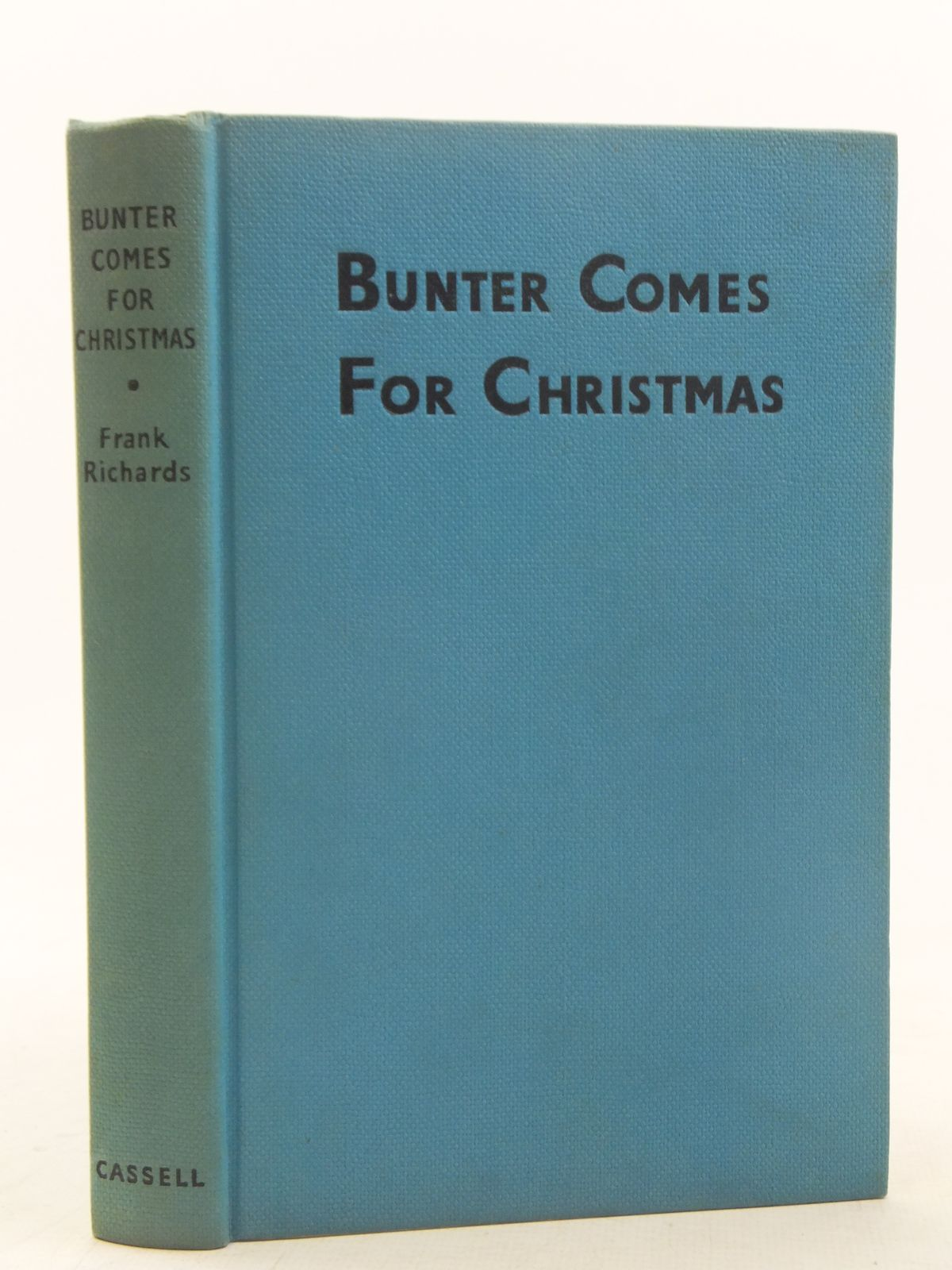 Photo of BUNTER COMES FOR CHRISTMAS written by Richards, Frank illustrated by Chapman, C.H. published by Cassell (STOCK CODE: 2117524)  for sale by Stella & Rose's Books
