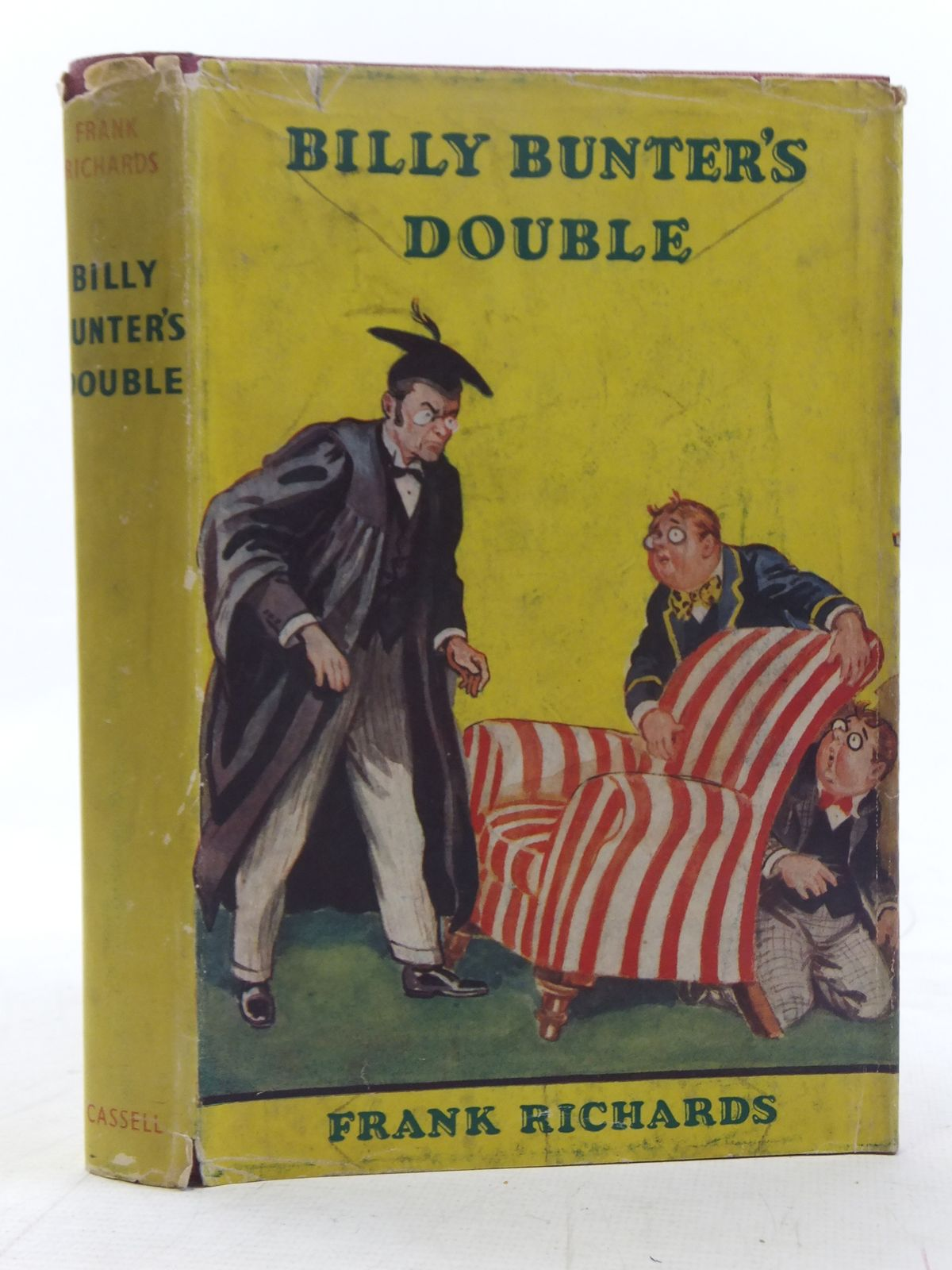 Photo of BILLY BUNTER'S DOUBLE written by Richards, Frank illustrated by Macdonald, R.J. published by Cassell & Company Ltd (STOCK CODE: 2117538)  for sale by Stella & Rose's Books
