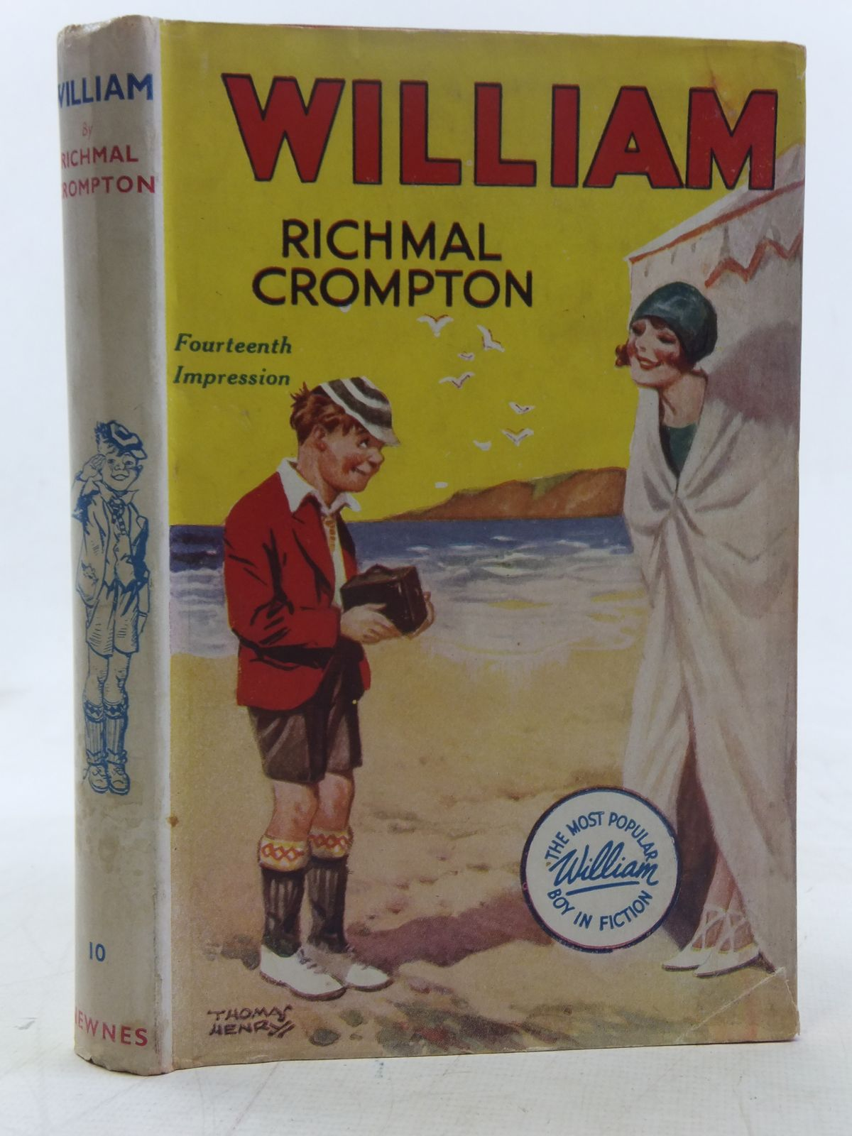 Photo of WILLIAM written by Crompton, Richmal illustrated by Henry, Thomas published by George Newnes Limited (STOCK CODE: 2117588)  for sale by Stella & Rose's Books