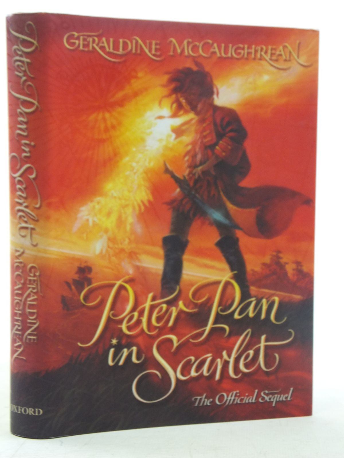 Photo of PETER PAN IN SCARLET written by McCaughrean, Geraldine illustrated by Wyatt, David published by Oxford University Press (STOCK CODE: 2117655)  for sale by Stella & Rose's Books