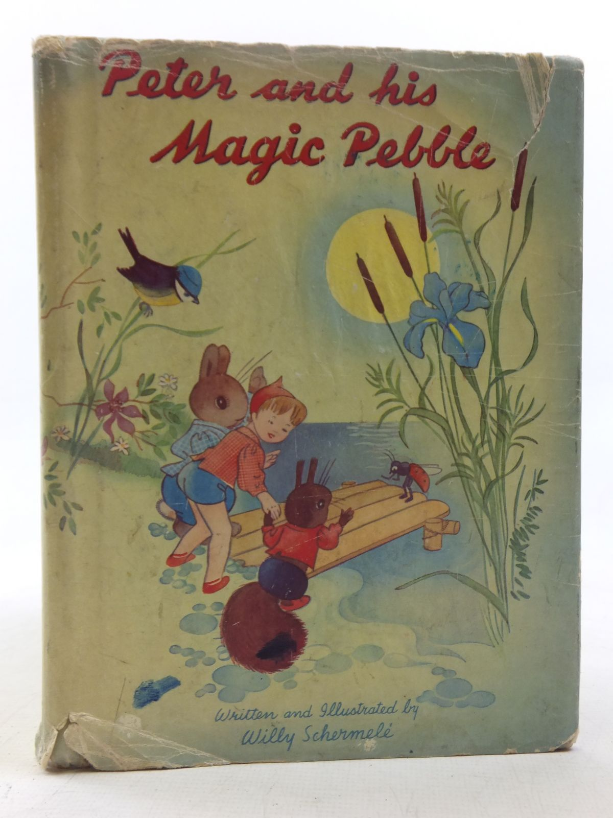 Photo of PETER AND HIS MAGIC PEBBLE written by Schermele, Willy illustrated by Schermele, Willy published by Juvenile Productions Ltd. (STOCK CODE: 2117710)  for sale by Stella & Rose's Books