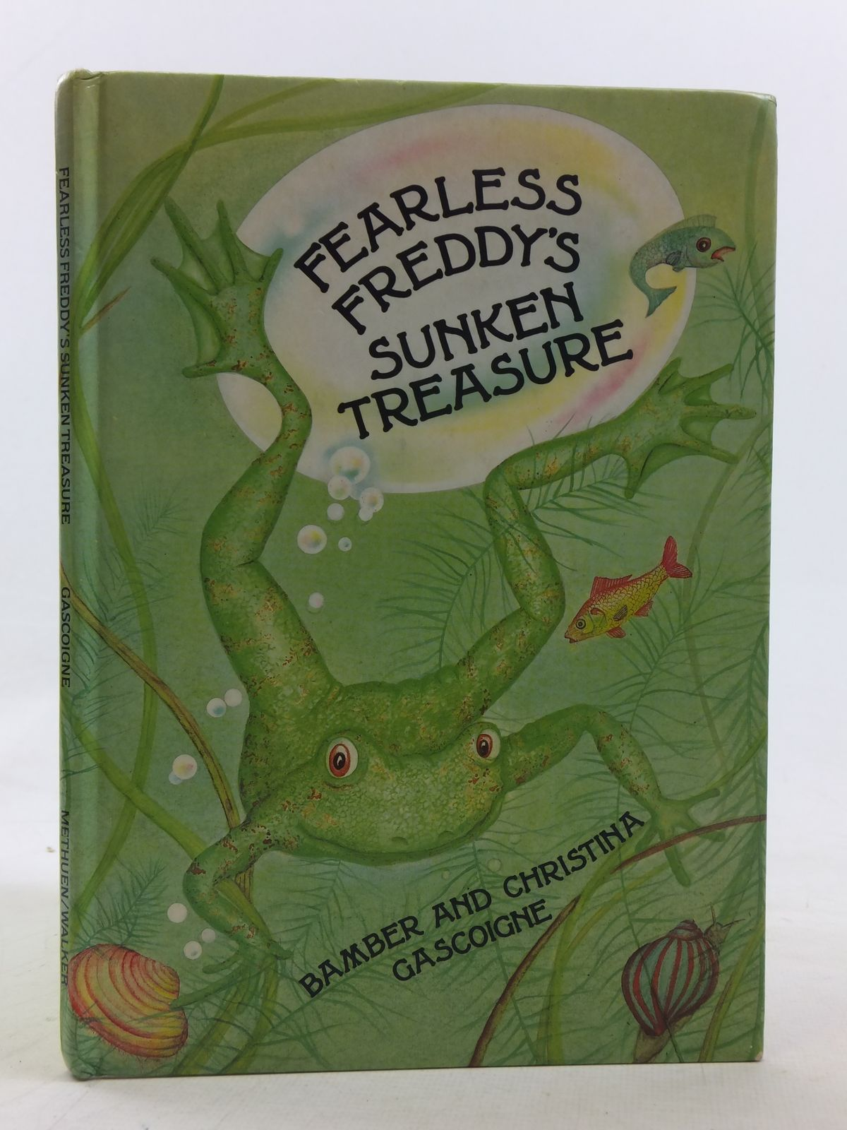 Photo of FEARLESS FREDDY'S SUNKEN TREASURE written by Gascoigne, Bamber illustrated by Gascoigne, Christina published by Methuen & Co. Ltd., Walker Books (STOCK CODE: 2117716)  for sale by Stella & Rose's Books