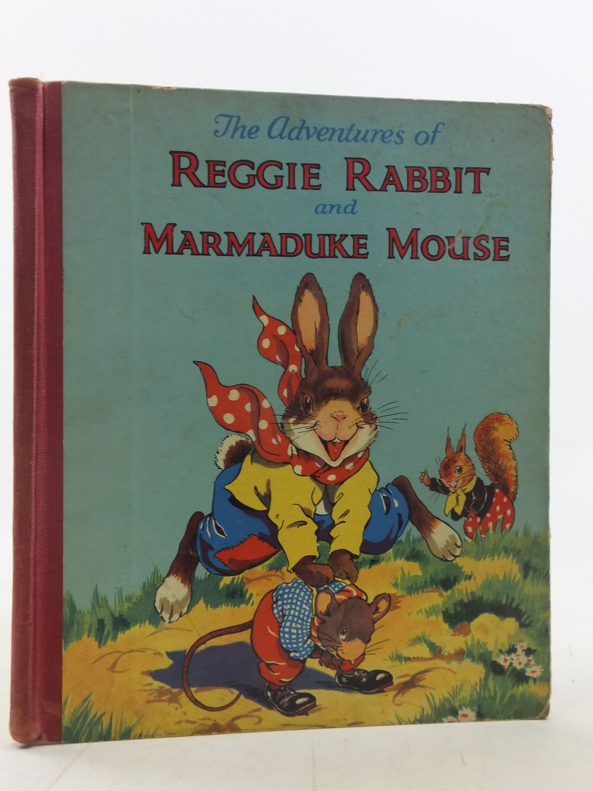 Photo of THE ADVENTURES OF REGGIE RABBIT AND MARMADUKE MOUSE- Stock Number: 2117717