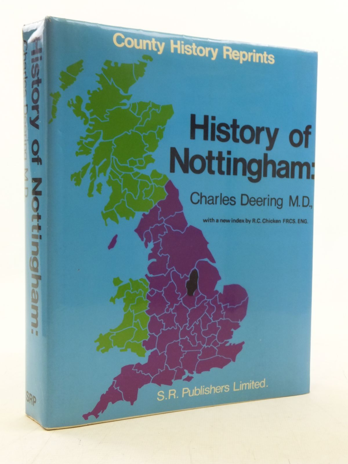 Photo of THE HISTORY OF NOTTINGHAM- Stock Number: 2117874