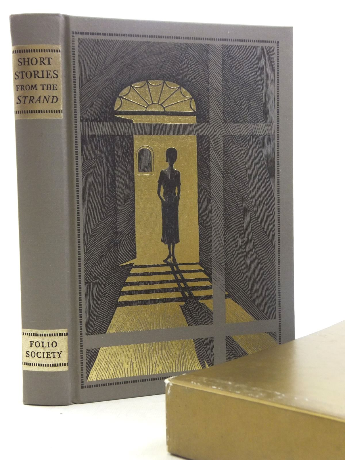 Photo of SHORT STORIES FROM THE 'STRAND' written by Beare, Geraldine illustrated by Eccles, David published by Folio Society (STOCK CODE: 2117925)  for sale by Stella & Rose's Books