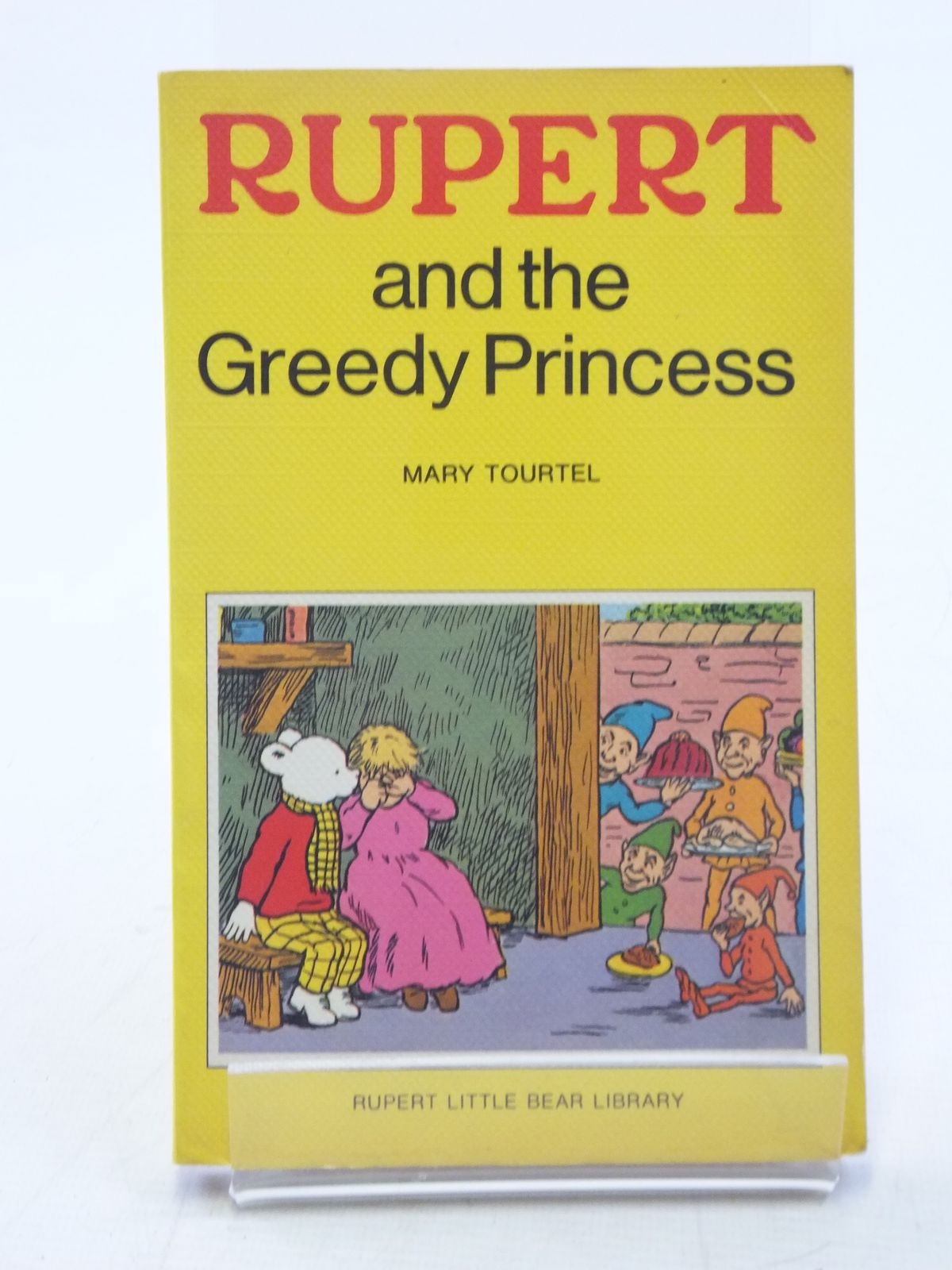 Photo of RUPERT AND THE GREEDY PRINCESS - RUPERT LITTLE BEAR LIBRARY No. 11 (WOOLWORTH) written by Tourtel, Mary illustrated by Tourtel, Mary published by Sampson Low, Marston & Co. Ltd. (STOCK CODE: 2117965)  for sale by Stella & Rose's Books