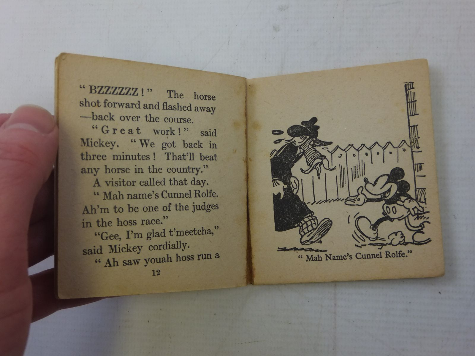 Photo of MICKEY MOUSE: 3 WEE LITTLE BOOKS written by Disney, Walt illustrated by Disney, Walt published by Collins Clear-Type Press (STOCK CODE: 2117990)  for sale by Stella & Rose's Books