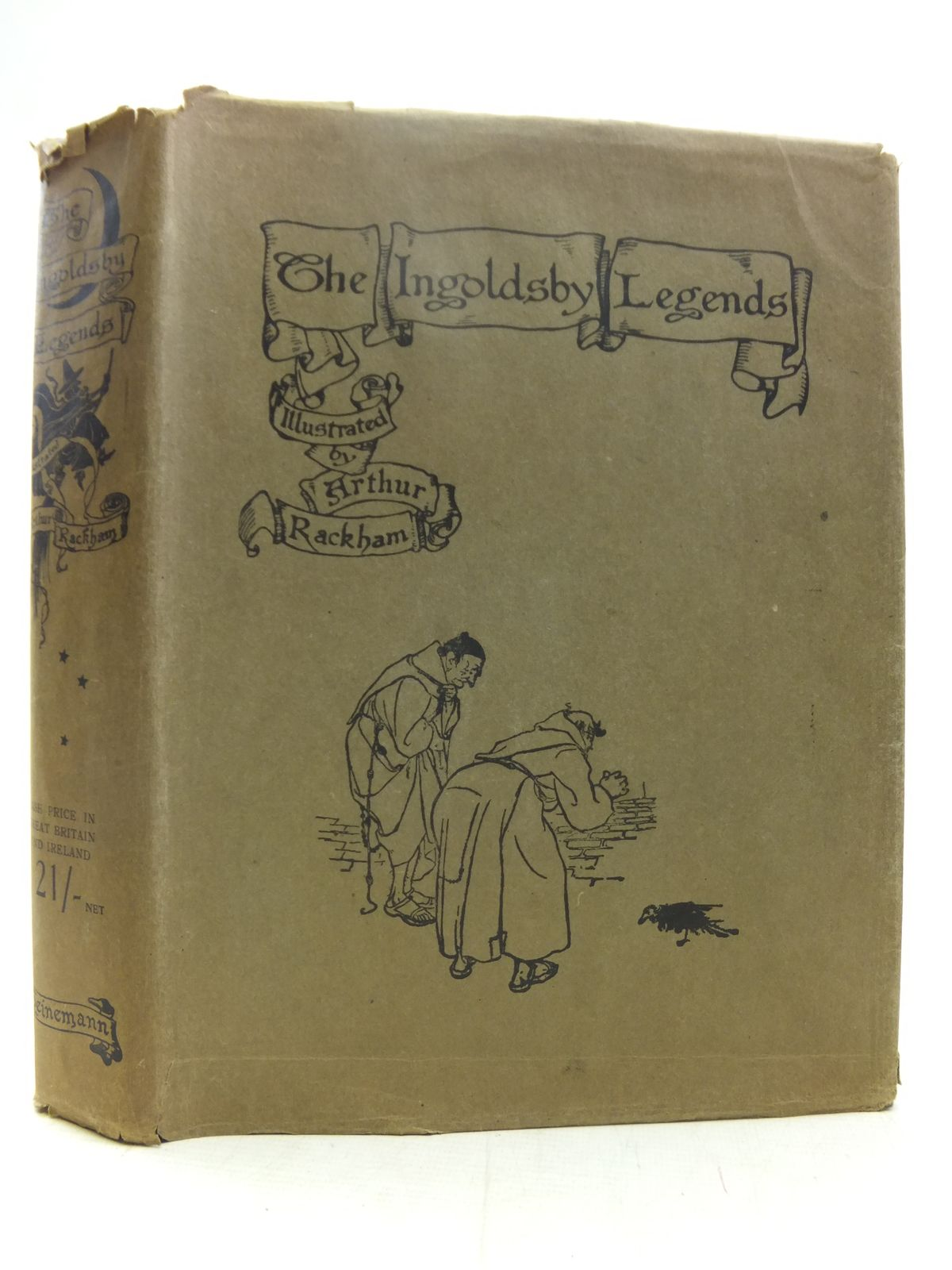 Photo of THE INGOLDSBY LEGENDS written by Barham, R. illustrated by Rackham, Arthur published by William Heinemann (STOCK CODE: 2118112)  for sale by Stella & Rose's Books