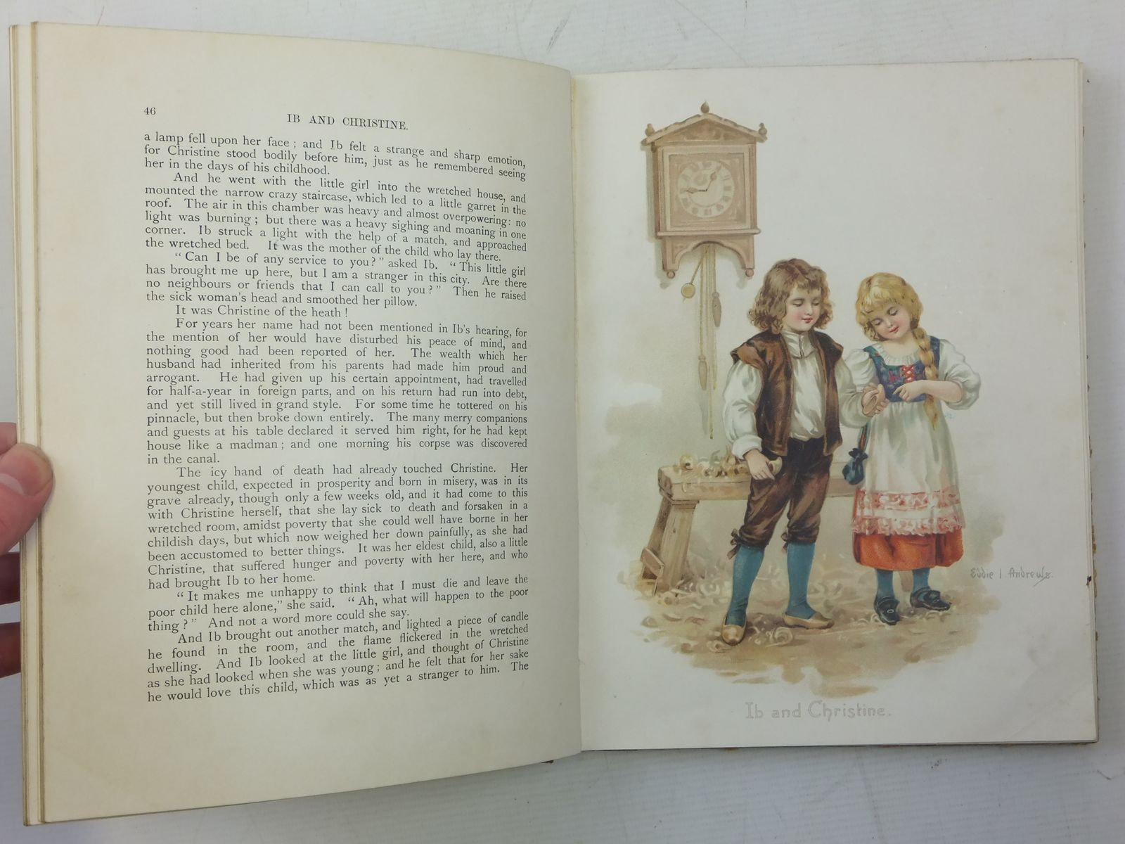 Photo of HANS ANDERSEN'S FAIRY TALES written by Andersen, Hans Christian illustrated by Andrews, E.J. Jacobs, S. published by Raphael Tuck & Sons Ltd. (STOCK CODE: 2118168)  for sale by Stella & Rose's Books