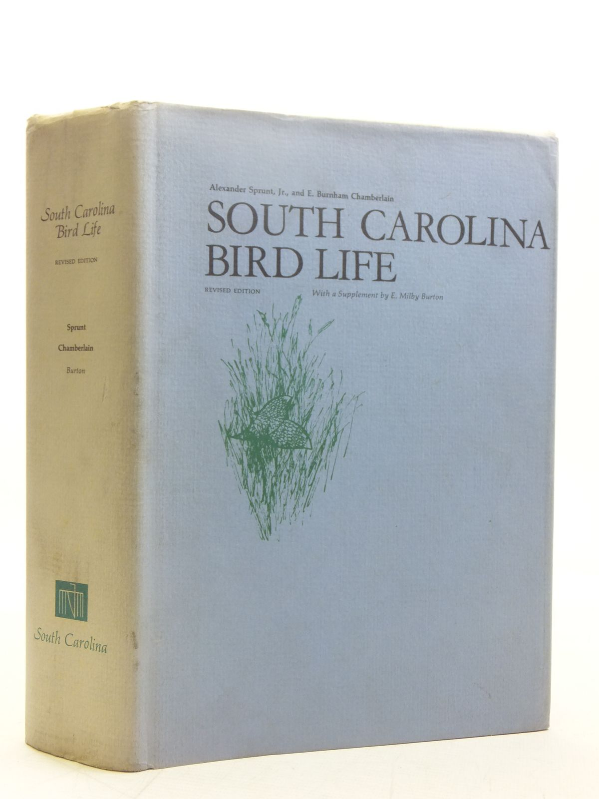 Photo of SOUTH CAROLINA BIRD LIFE written by Sprunt, Alexander Chamberlain, E. Burnham illustrated by Jaques, Francis Lee Dick, John Henry Peterson, Roger Tory et al., published by University of South Carolina Press (STOCK CODE: 2118321)  for sale by Stella & Rose's Books