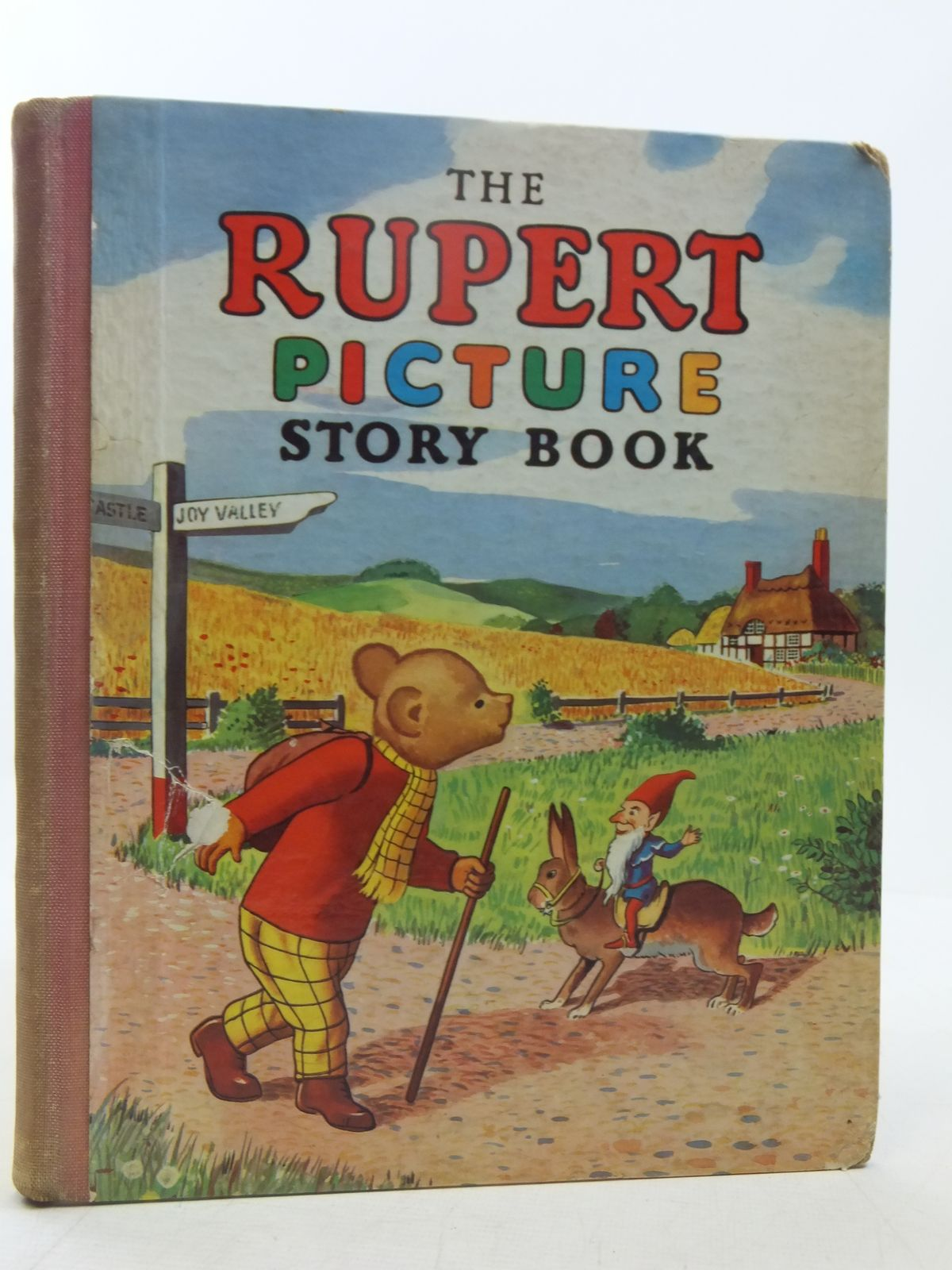 Photo of THE RUPERT PICTURE STORY BOOK written by Bestall, Alfred illustrated by Bestall, Alfred published by L.T.A. Robinson Ltd. (STOCK CODE: 2118348)  for sale by Stella & Rose's Books