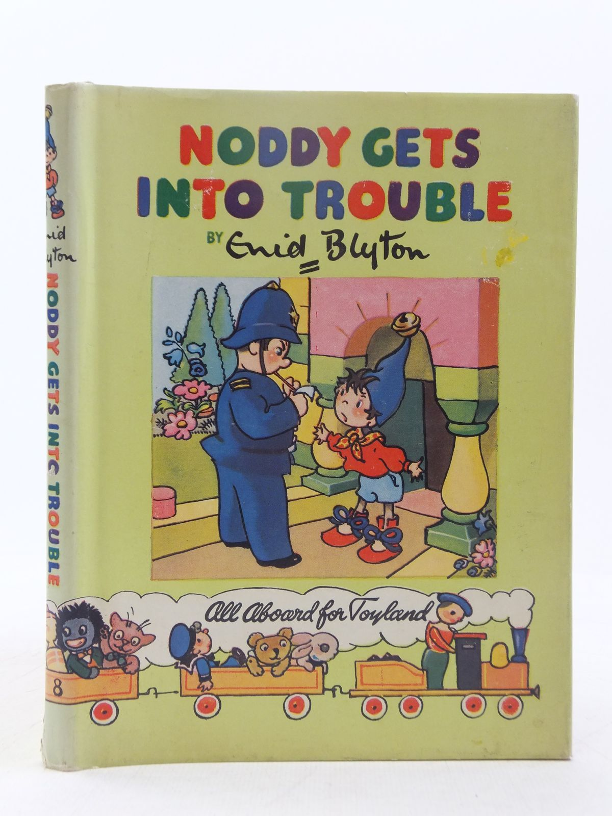 Photo of NODDY GETS INTO TROUBLE written by Blyton, Enid illustrated by Brooks, Mary published by Sampson Low, Marston & Co. Ltd., C.A. Publications Ltd. (STOCK CODE: 2118357)  for sale by Stella & Rose's Books
