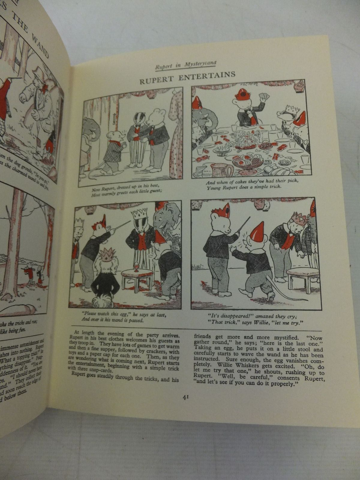 Photo of RUPERT ANNUAL 1938 (FACSIMILE) - THE NEW RUPERT BOOK written by Bestall, Alfred illustrated by Bestall, Alfred published by Daily Express (STOCK CODE: 2118459)  for sale by Stella & Rose's Books