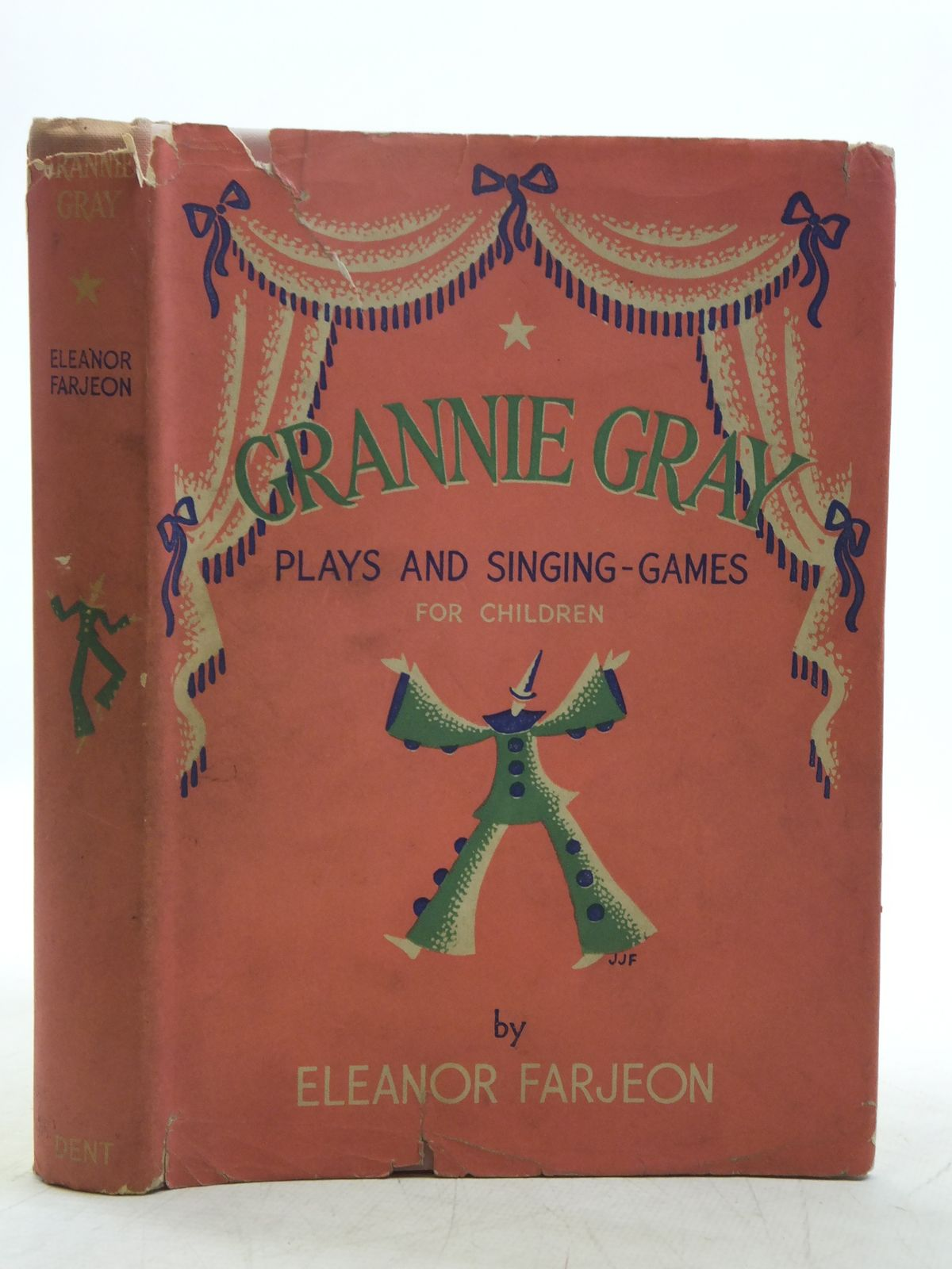 Photo of GRANNIE GRAY written by Farjeon, Eleanor illustrated by Farjeon, Joan Jefferson published by J.M. Dent & Sons Ltd. (STOCK CODE: 2118628)  for sale by Stella & Rose's Books