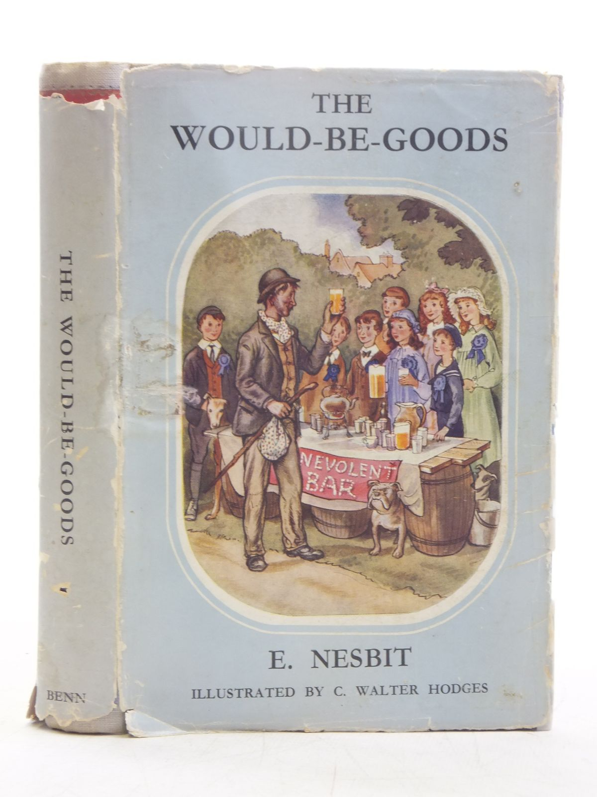 Photo of THE WOULDBEGOODS written by Nesbit, E. illustrated by Hodges, C. Walter published by Ernest Benn Limited (STOCK CODE: 2118629)  for sale by Stella & Rose's Books