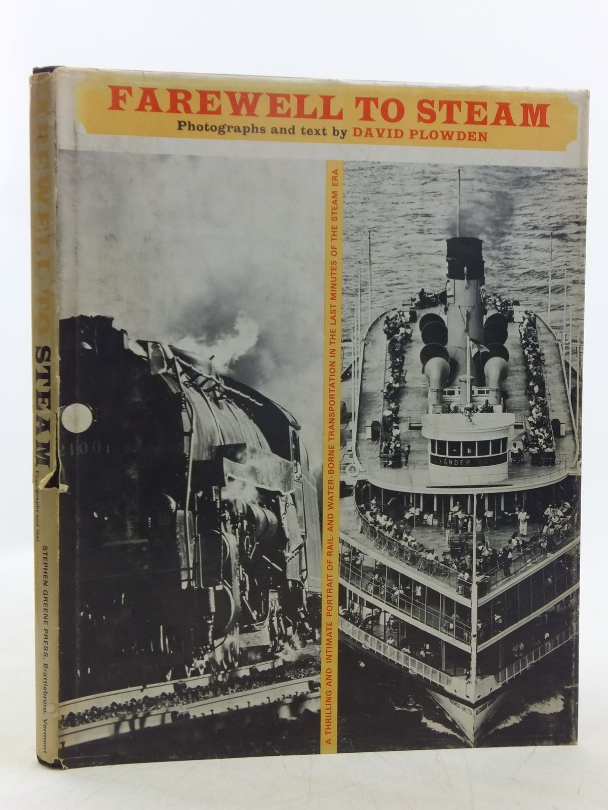 Photo of FAREWELL TO STEAM written by Plowden, David illustrated by Plowden, David published by The Stephen Greene Press (STOCK CODE: 2118674)  for sale by Stella & Rose's Books