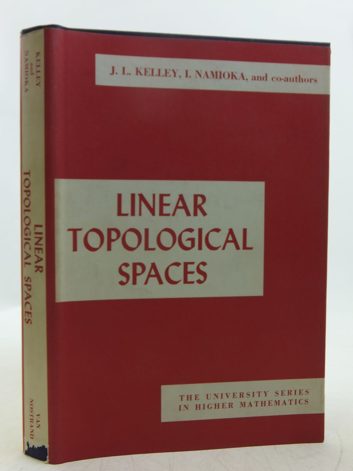 Photo of LINEAR TOPOLOGICAL SPACES- Stock Number: 2118859