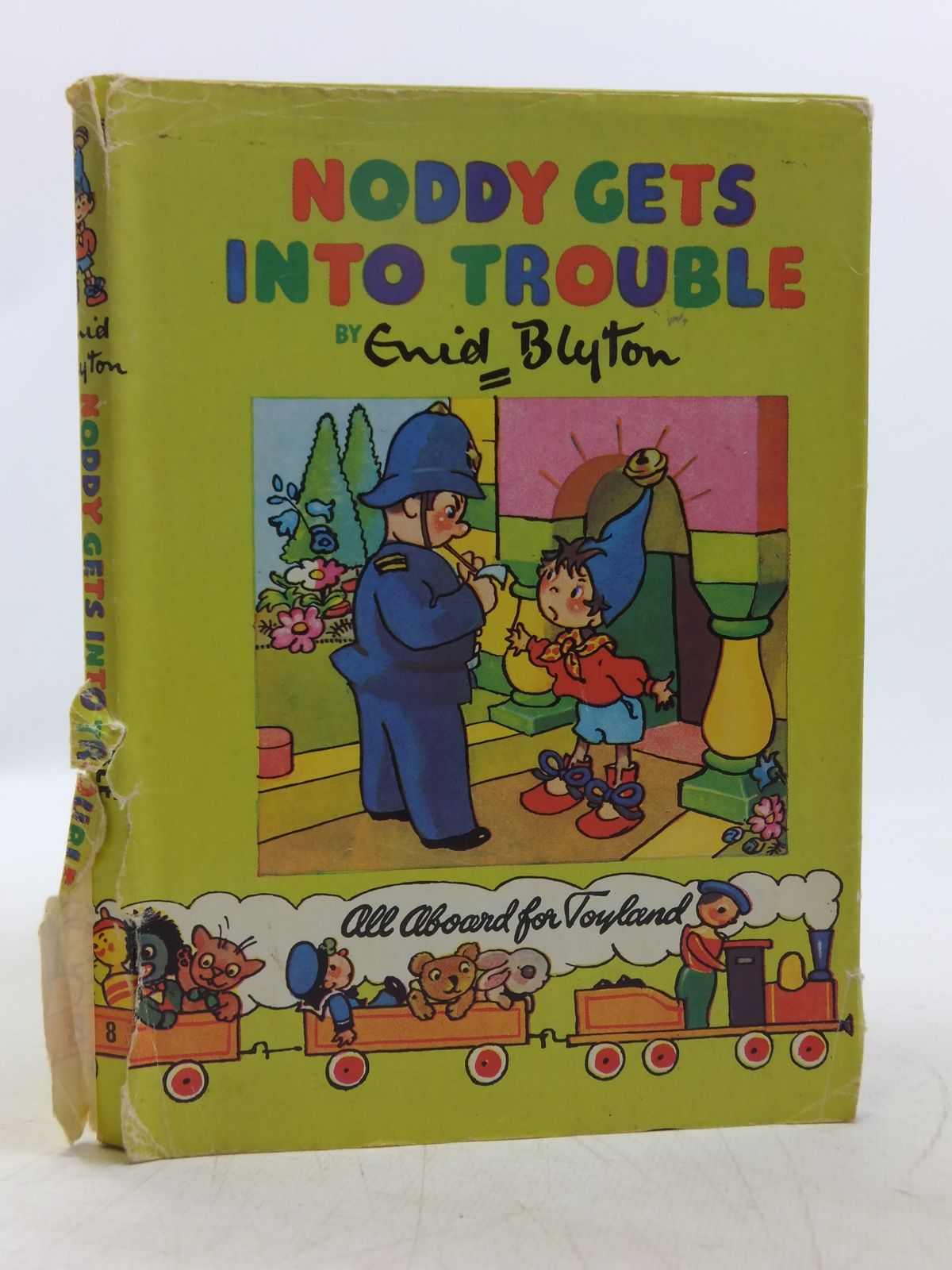Photo of NODDY GETS INTO TROUBLE written by Blyton, Enid illustrated by Brooks, Mary published by Sampson Low, Marston & Co. Ltd., The Richards Press Ltd. (STOCK CODE: 2118910)  for sale by Stella & Rose's Books