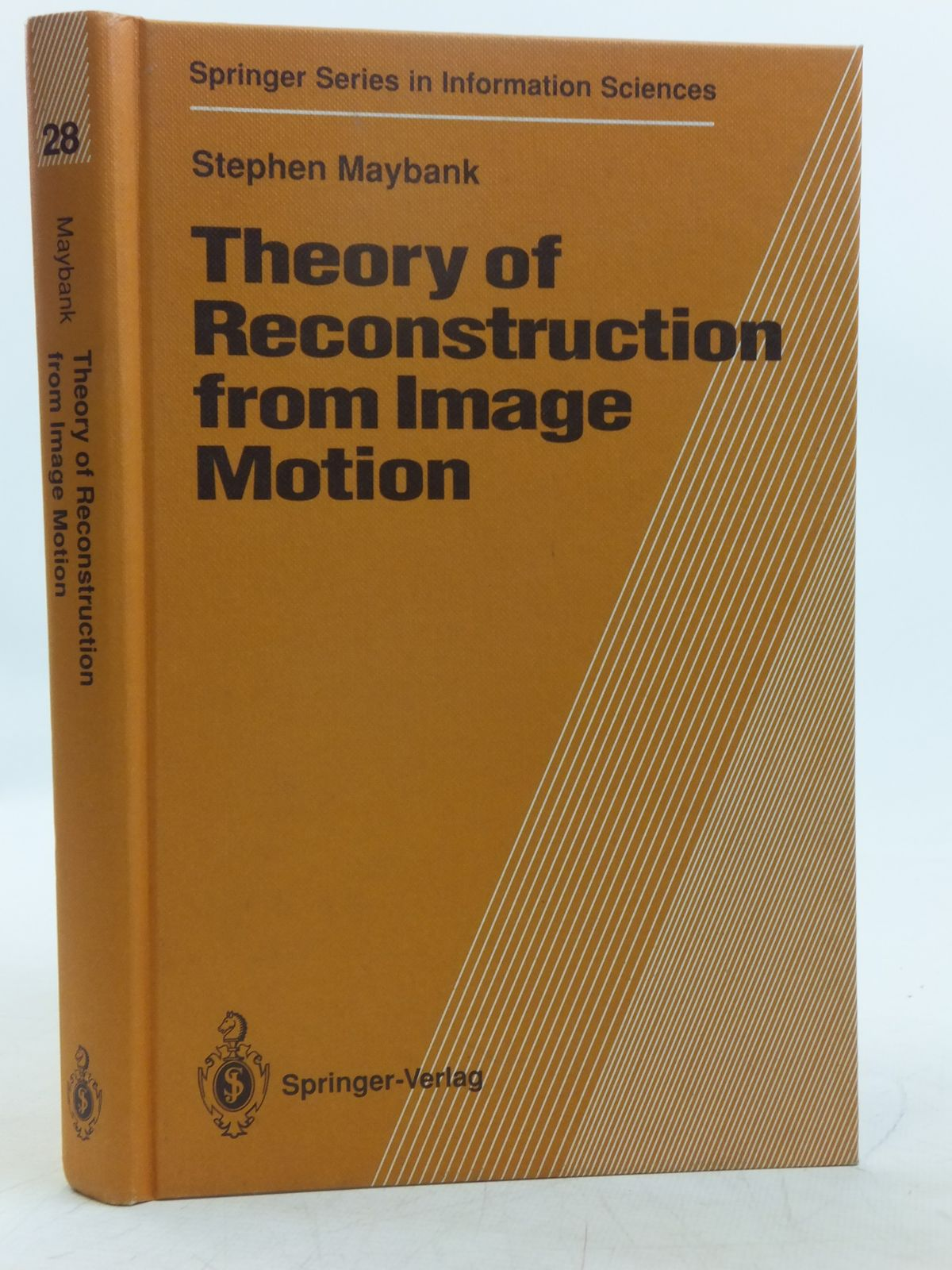 Photo of THEORY OF RECONSTRUCTION FROM IMAGE MOTION- Stock Number: 2118967