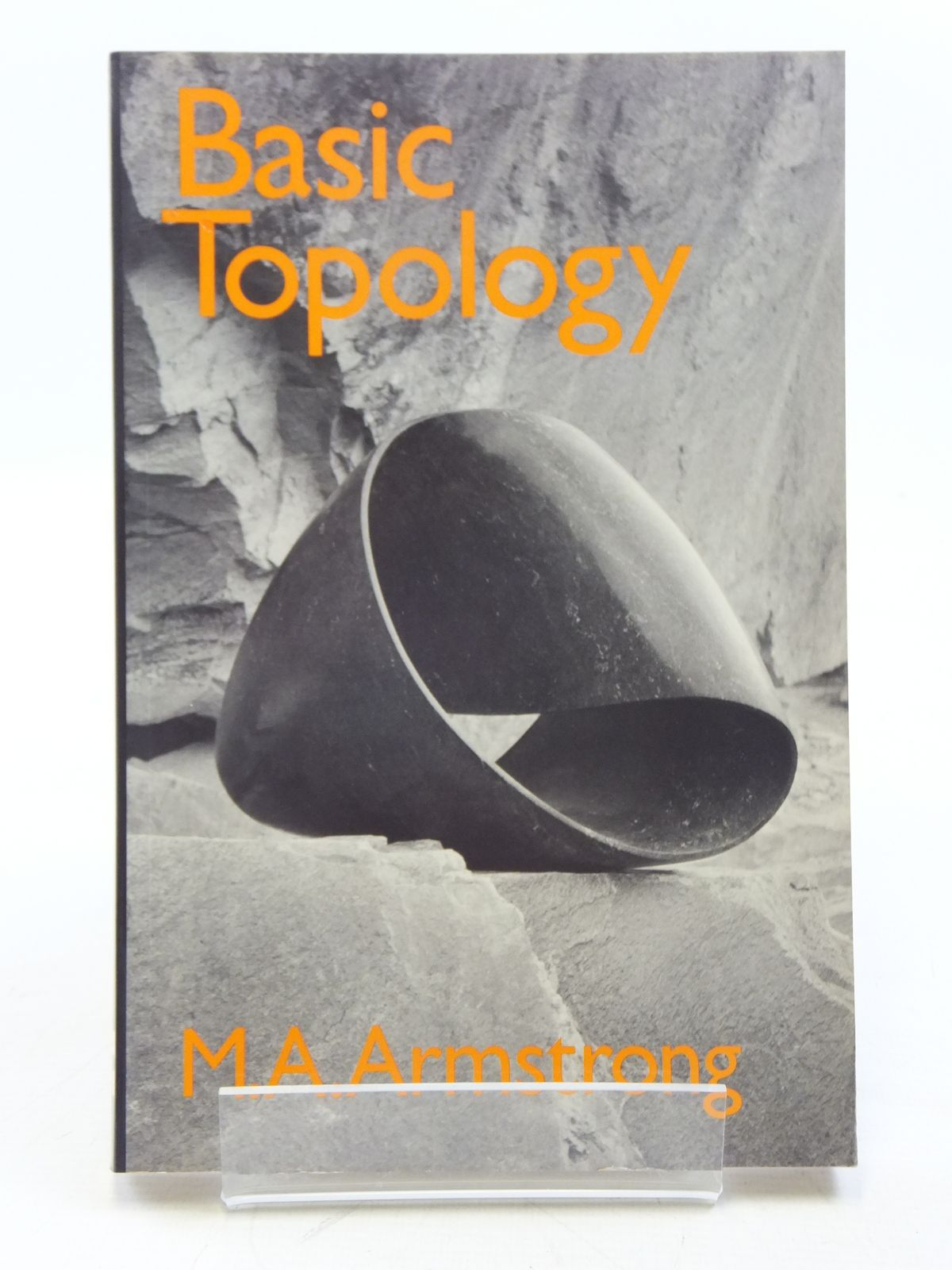 Photo of BASIC TOPOLOGY written by Armstrong, M.A. published by McGraw-Hill Book Company (STOCK CODE: 2119014)  for sale by Stella & Rose's Books
