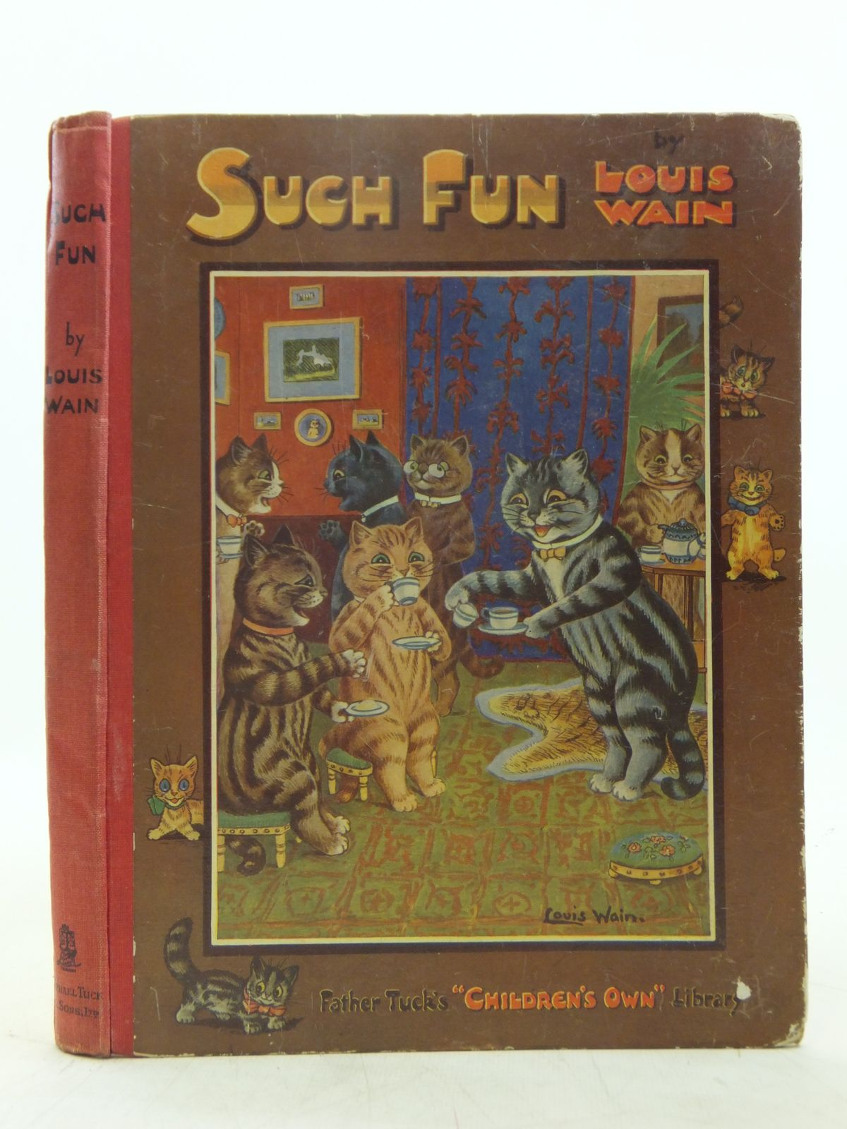 Photo of SUCH FUN written by Gale, Norman<br />Floyd, Grace C.<br />et al, illustrated by Wain, Louis published by Raphael Tuck &amp; Sons Ltd. (STOCK CODE: 2119056)  for sale by Stella & Rose's Books